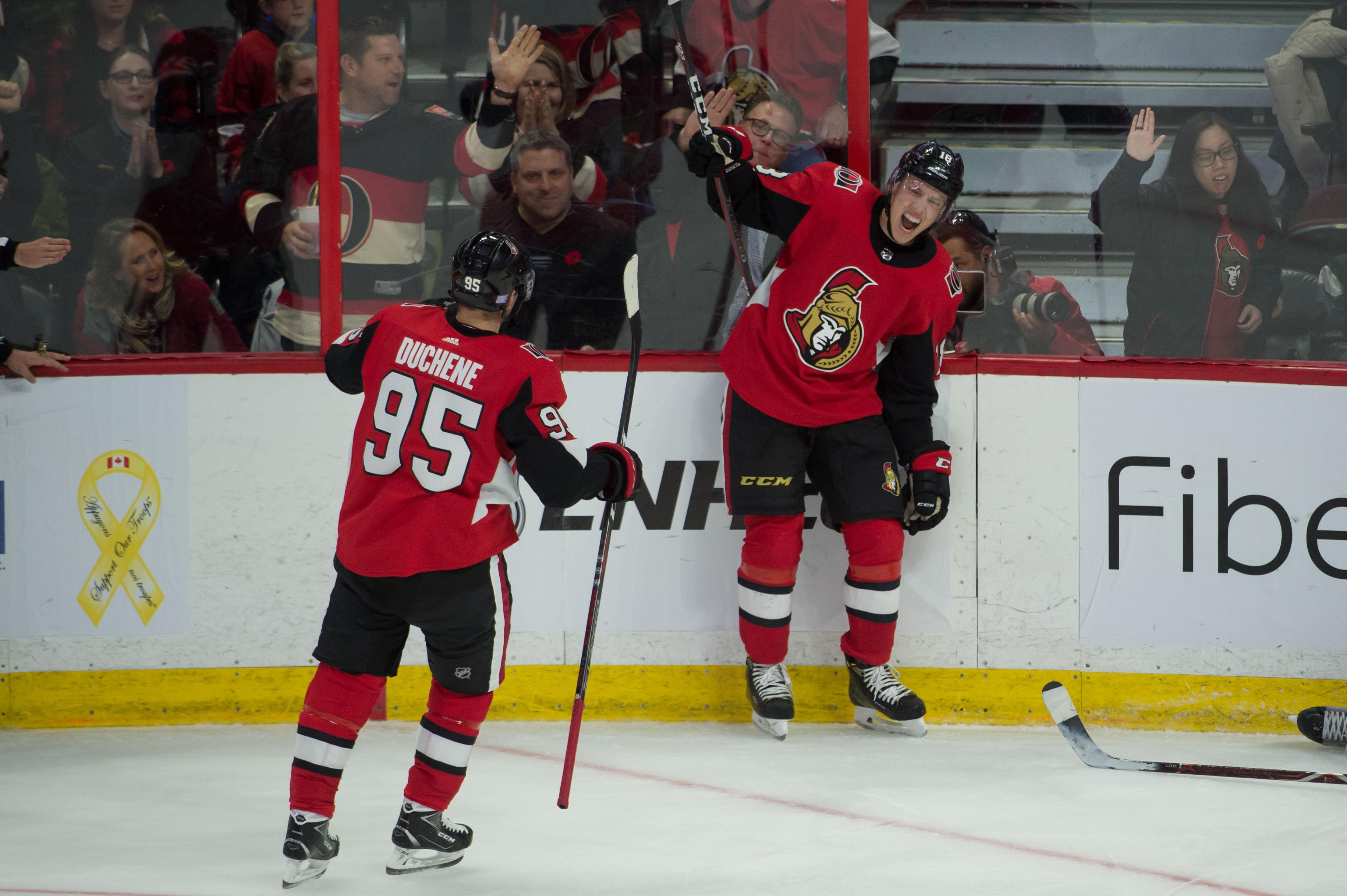 NHL: New Jersey Devils at Ottawa Senators