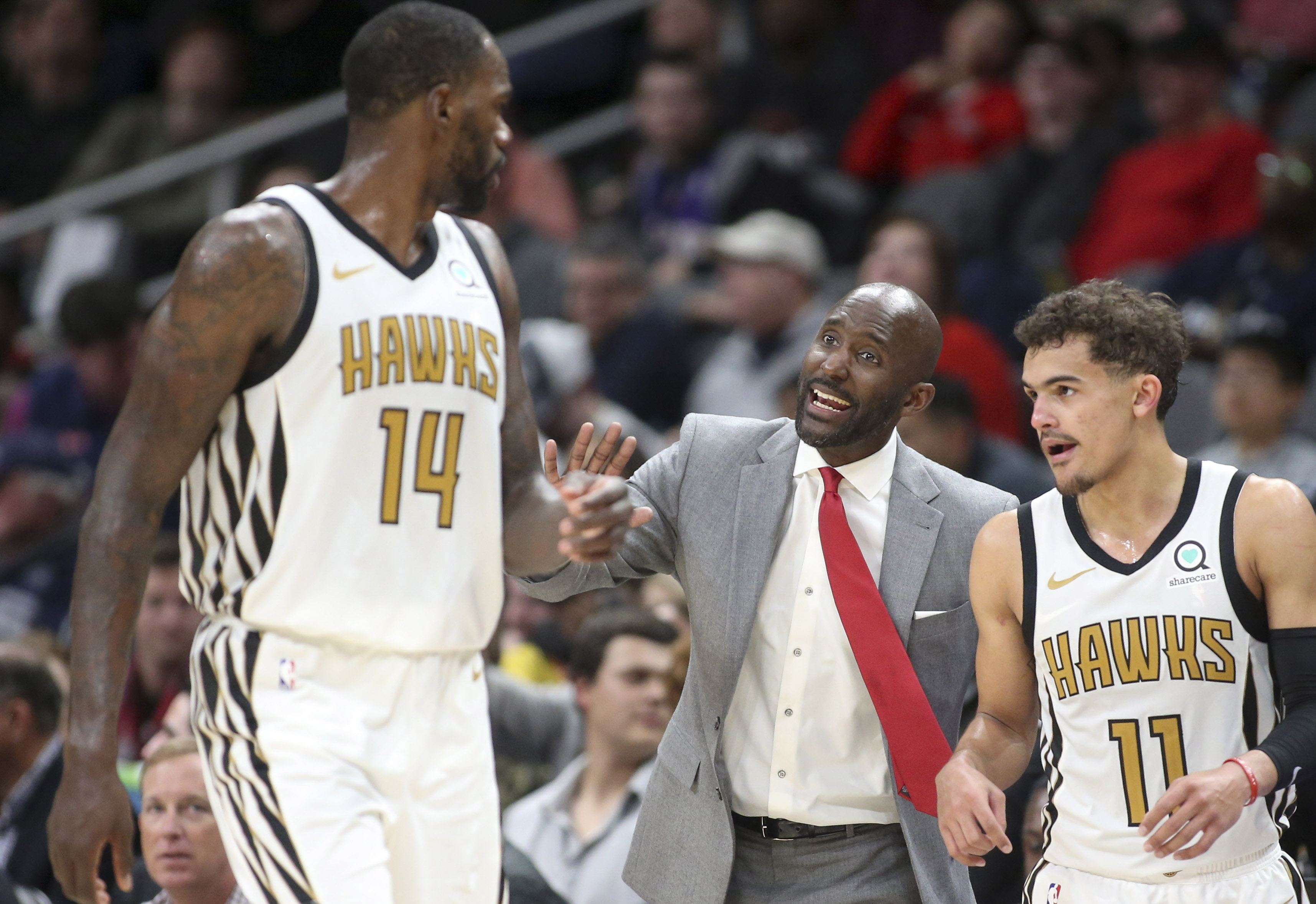 NBA: Phoenix Suns at Atlanta Hawks
