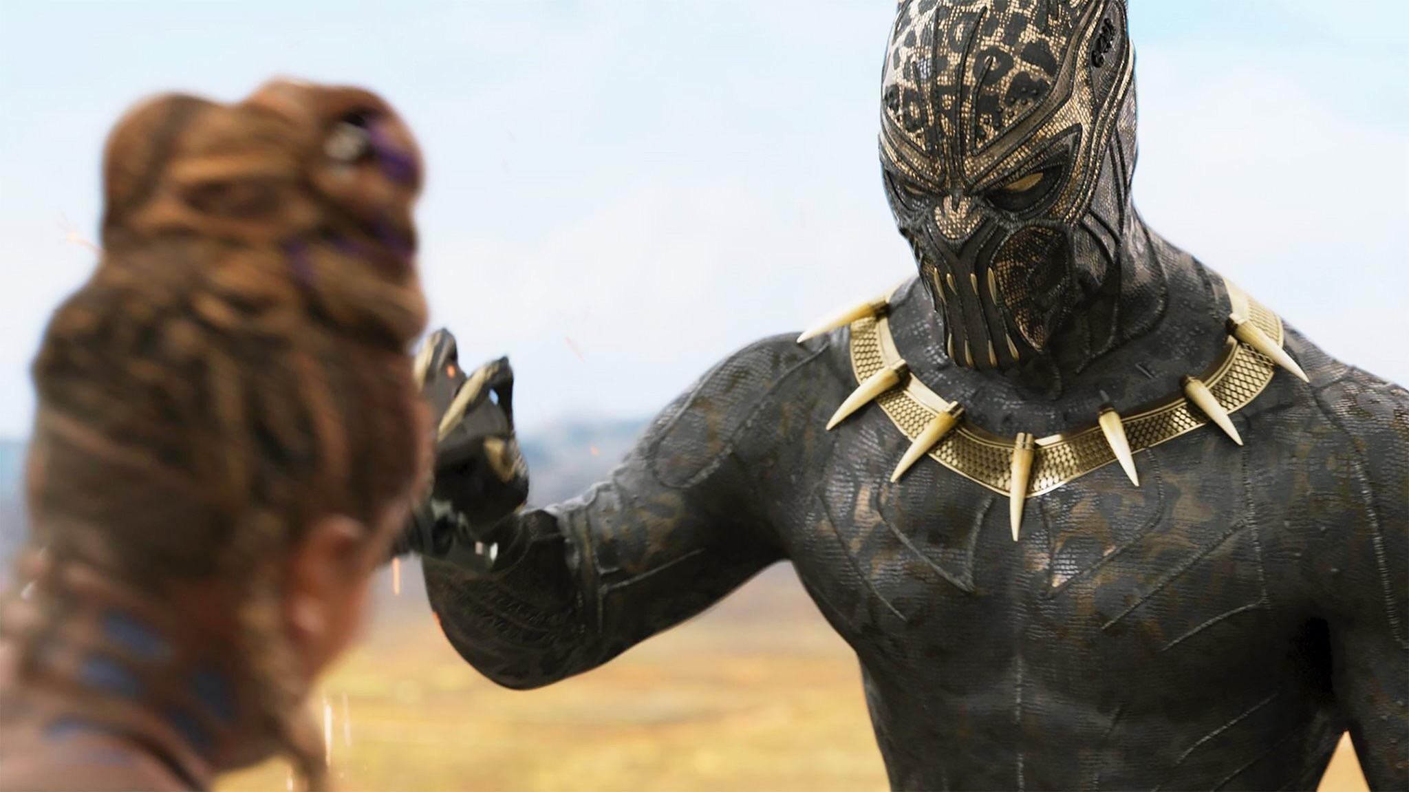 black panther oscar gold