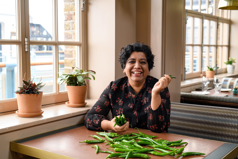 'Chef's Table's Asma Khan Partners on London Food Sustainability Dinner