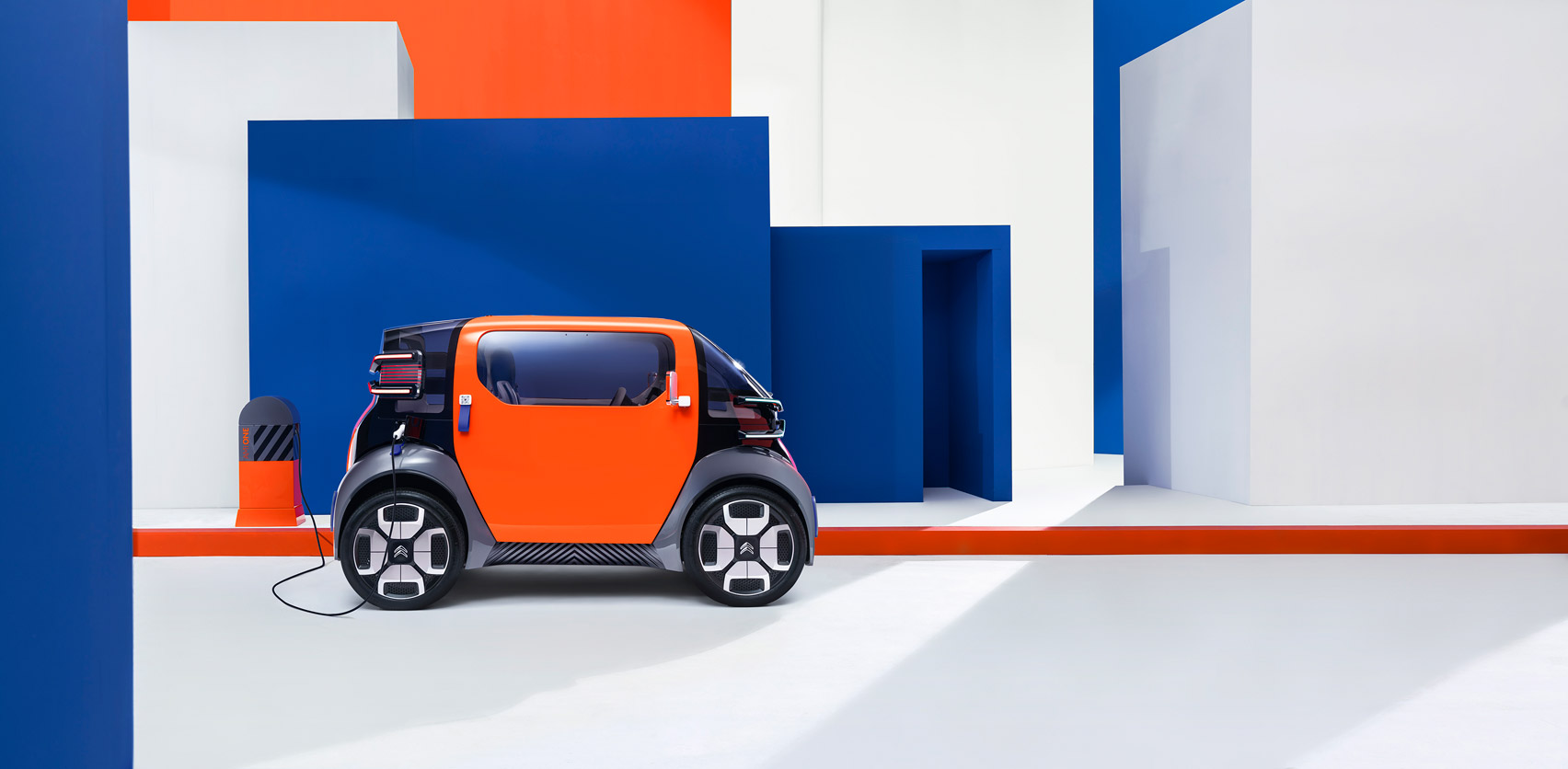 Tiny electric vehicle designed as an alternative to cars, bikes, and scooters