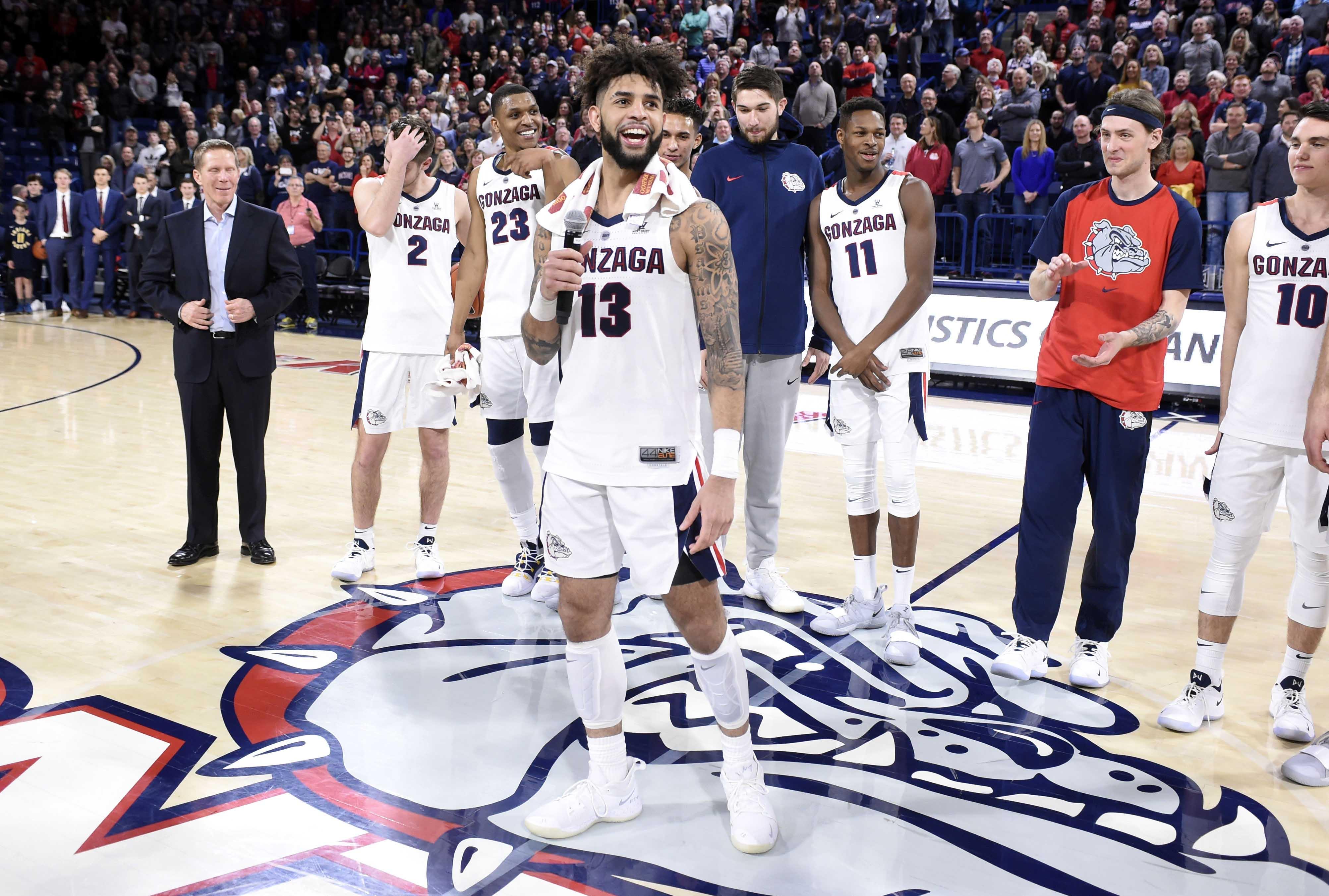 NCAA Basketball: Brigham Young at Gonzaga