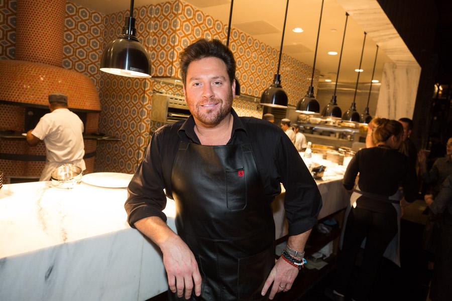 Scott Conant at Masso Osteria