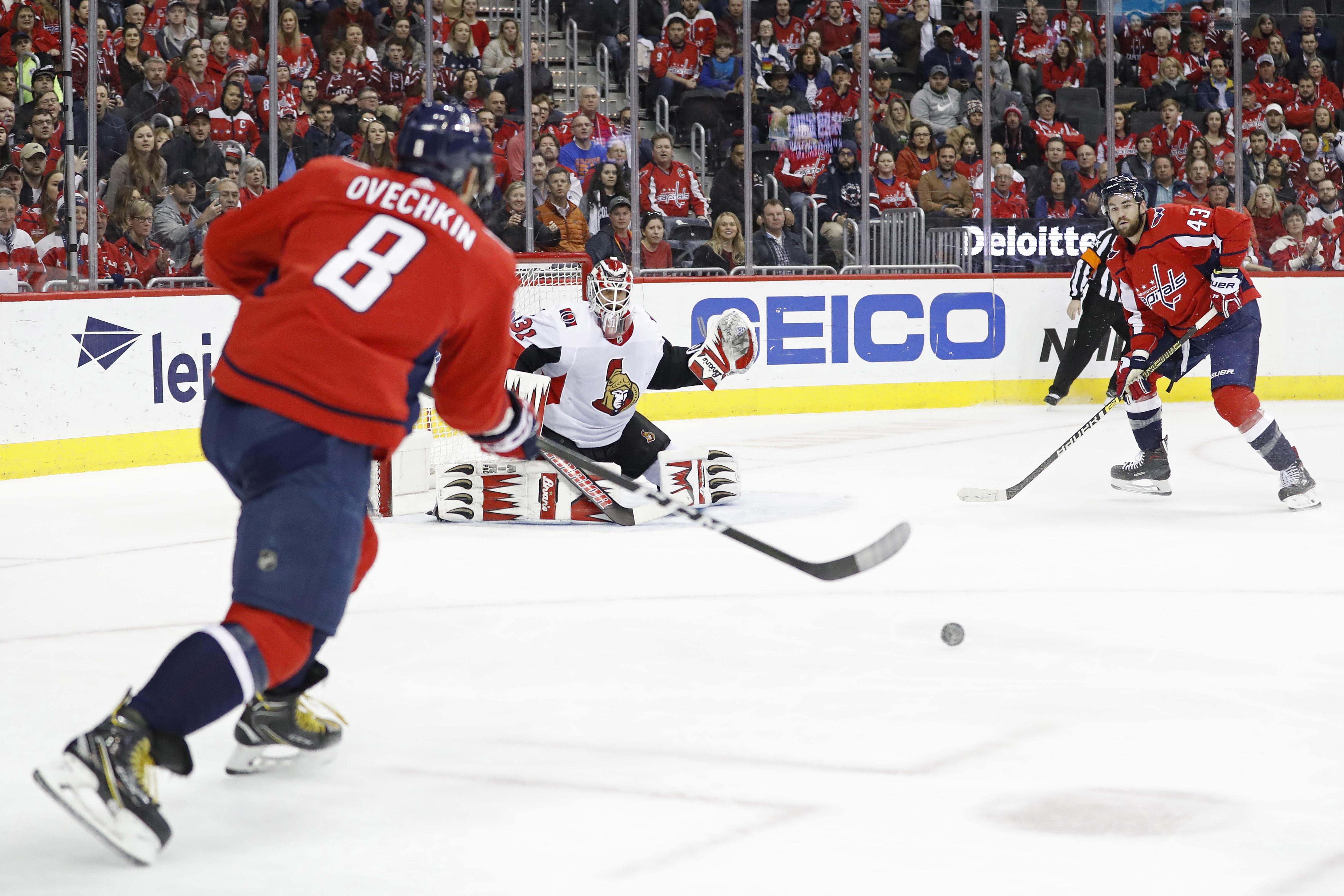 NHL: Ottawa Senators at Washington Capitals