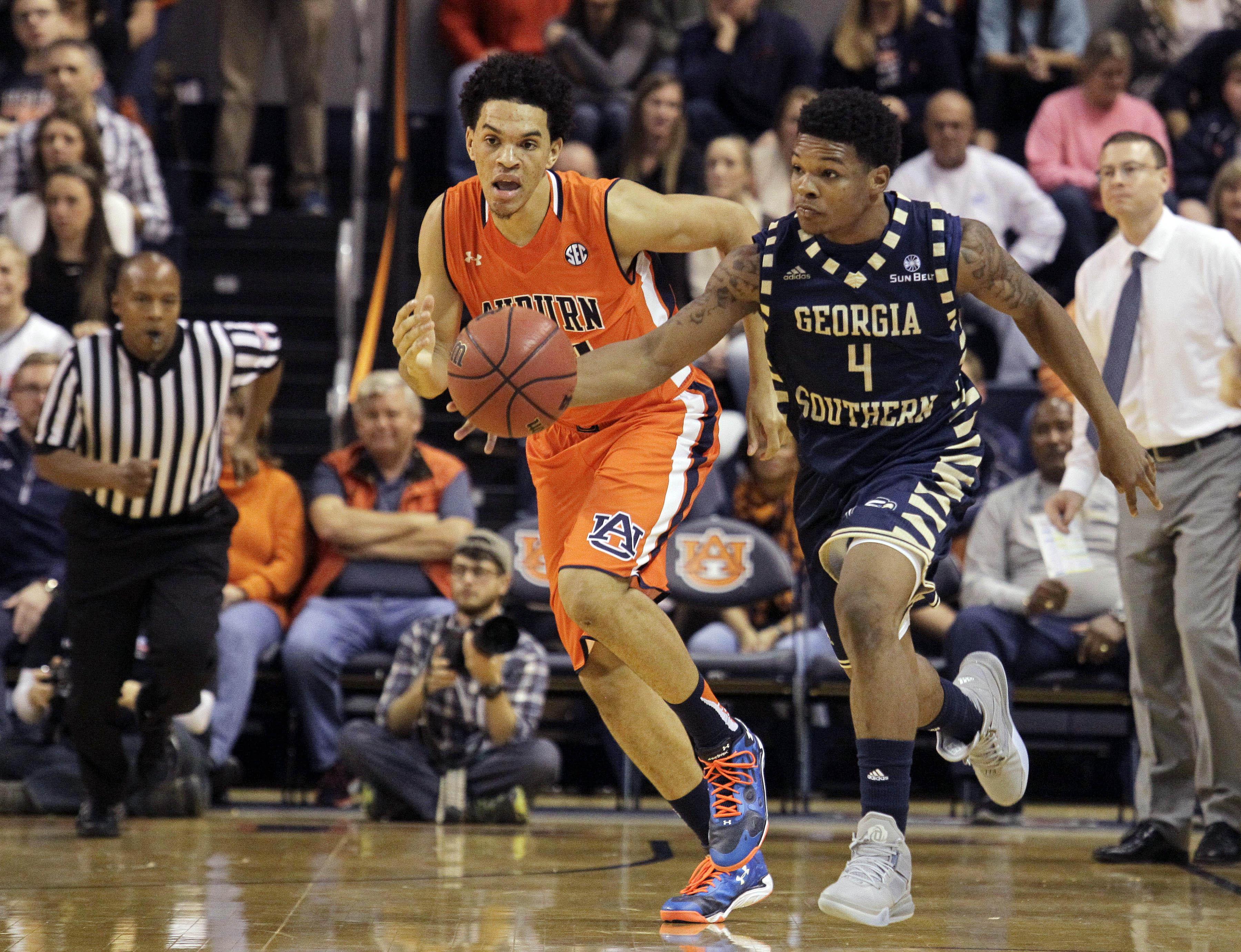 NCAA Basketball: Georgia Southern at Auburn