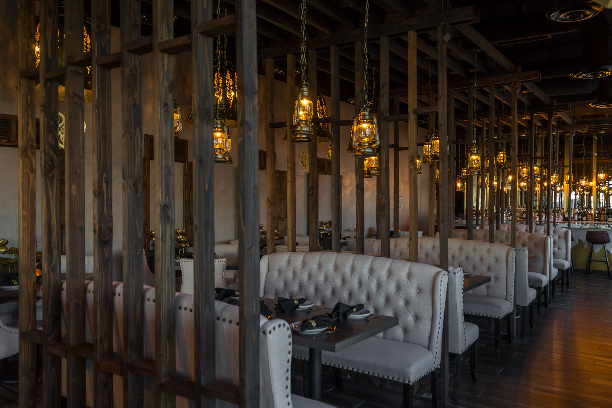 Bank Atcharawan's New Thai Restaurant Lamaii may be his sexiest yet