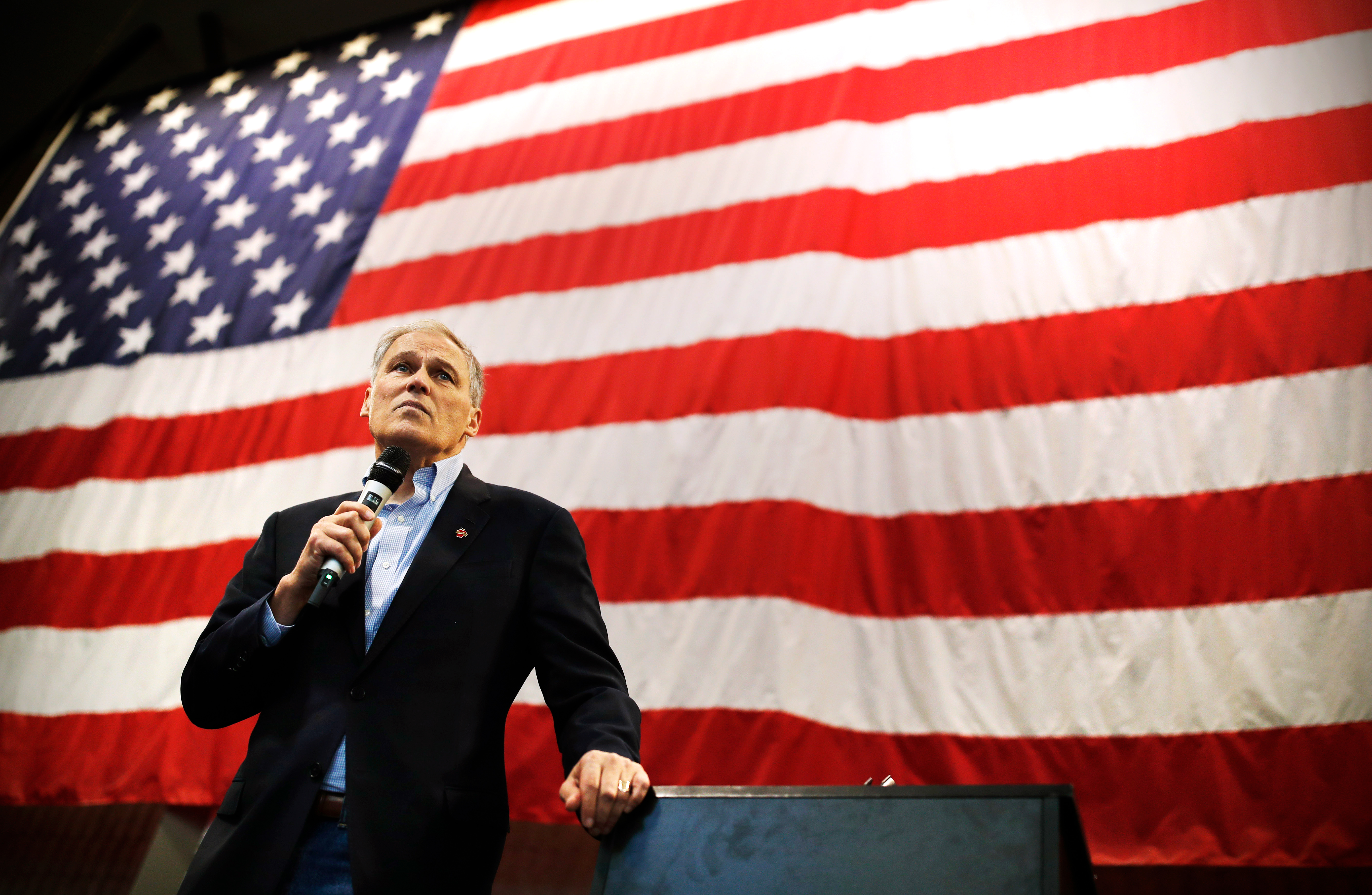 Jay Inslee's presidential campaign is all about climate change
