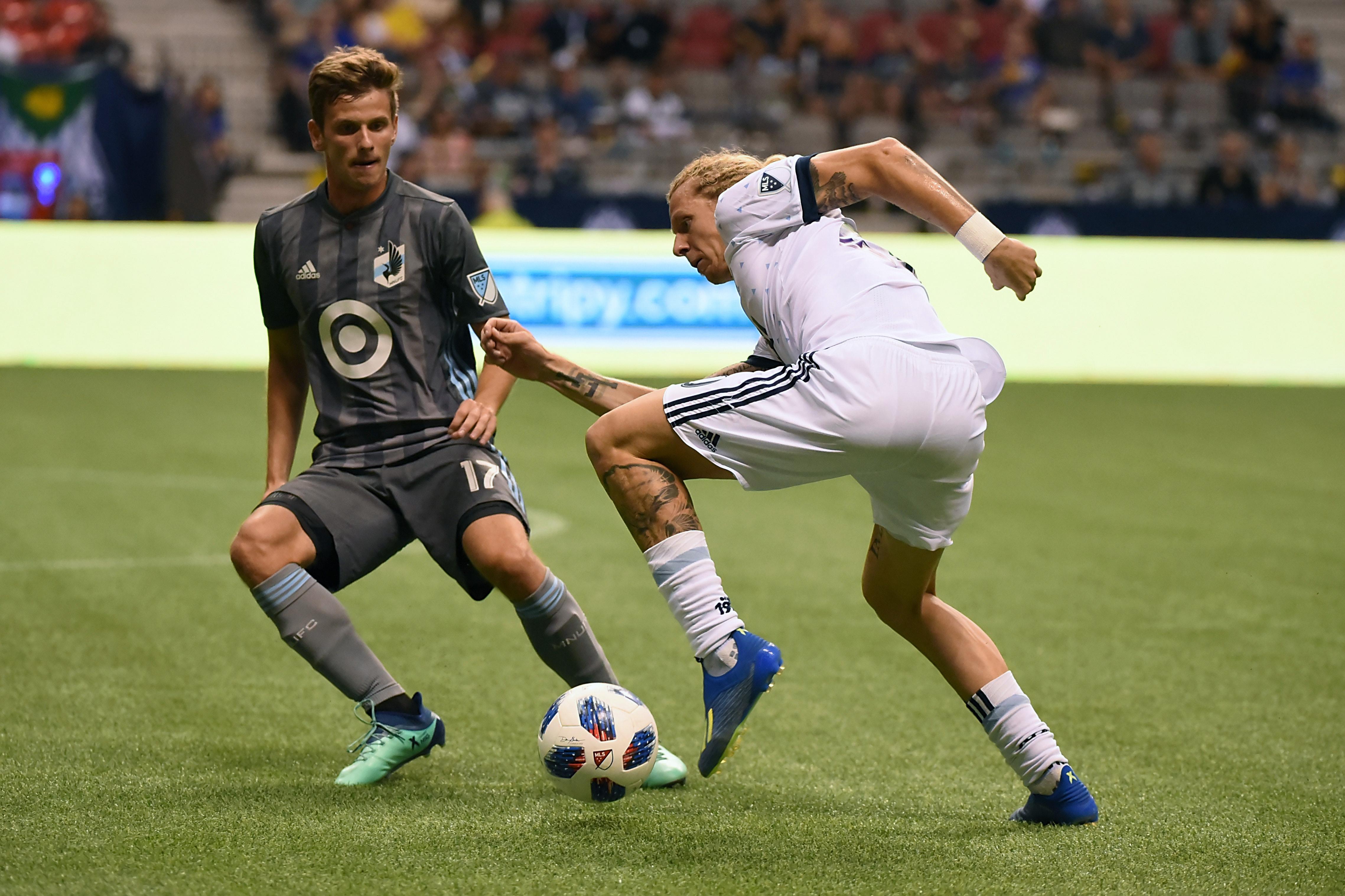 MLS: Minnesota United FC at Vancouver Whitecaps