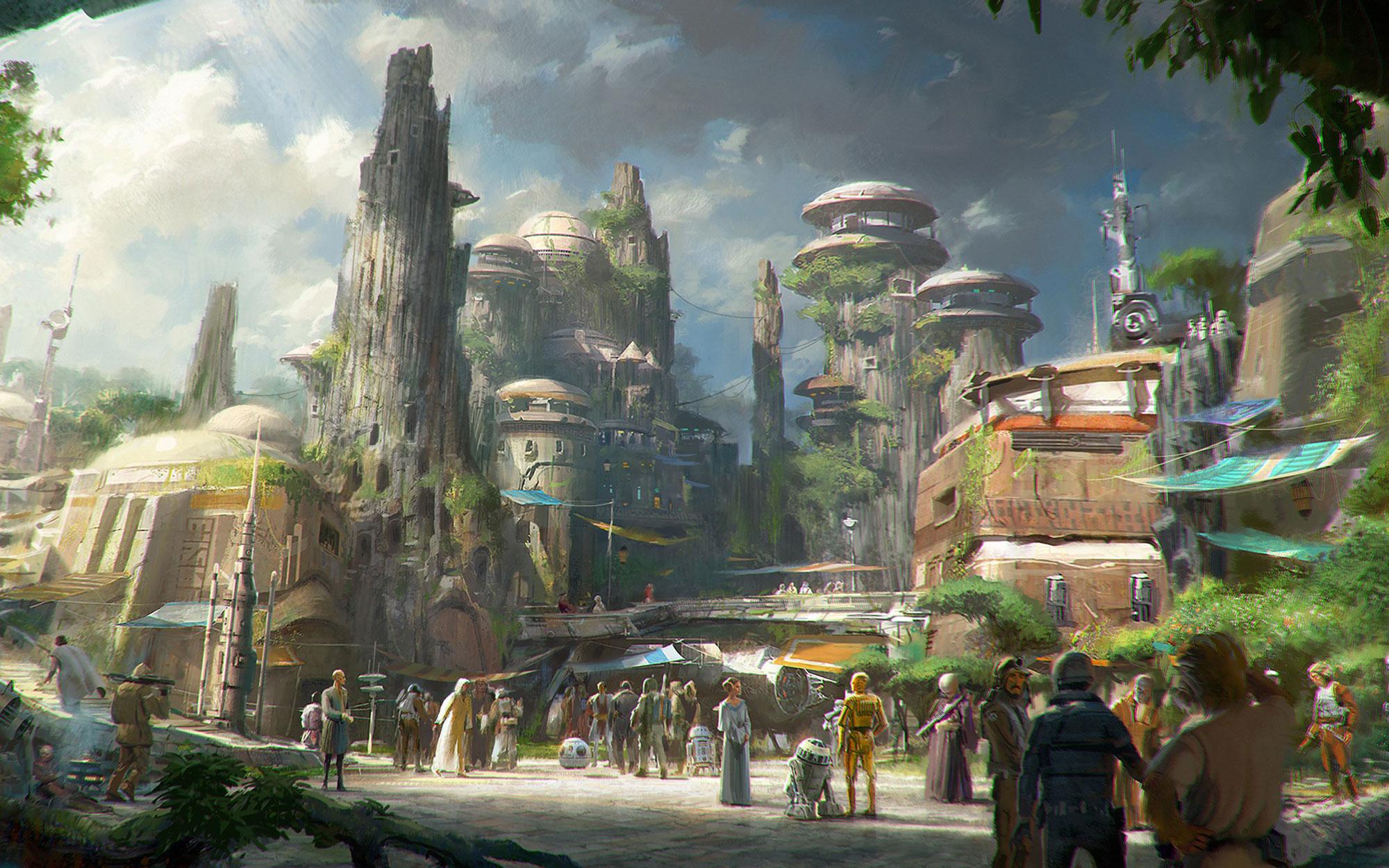 Disney's Star Wars: Galaxy's Edge theme park lands