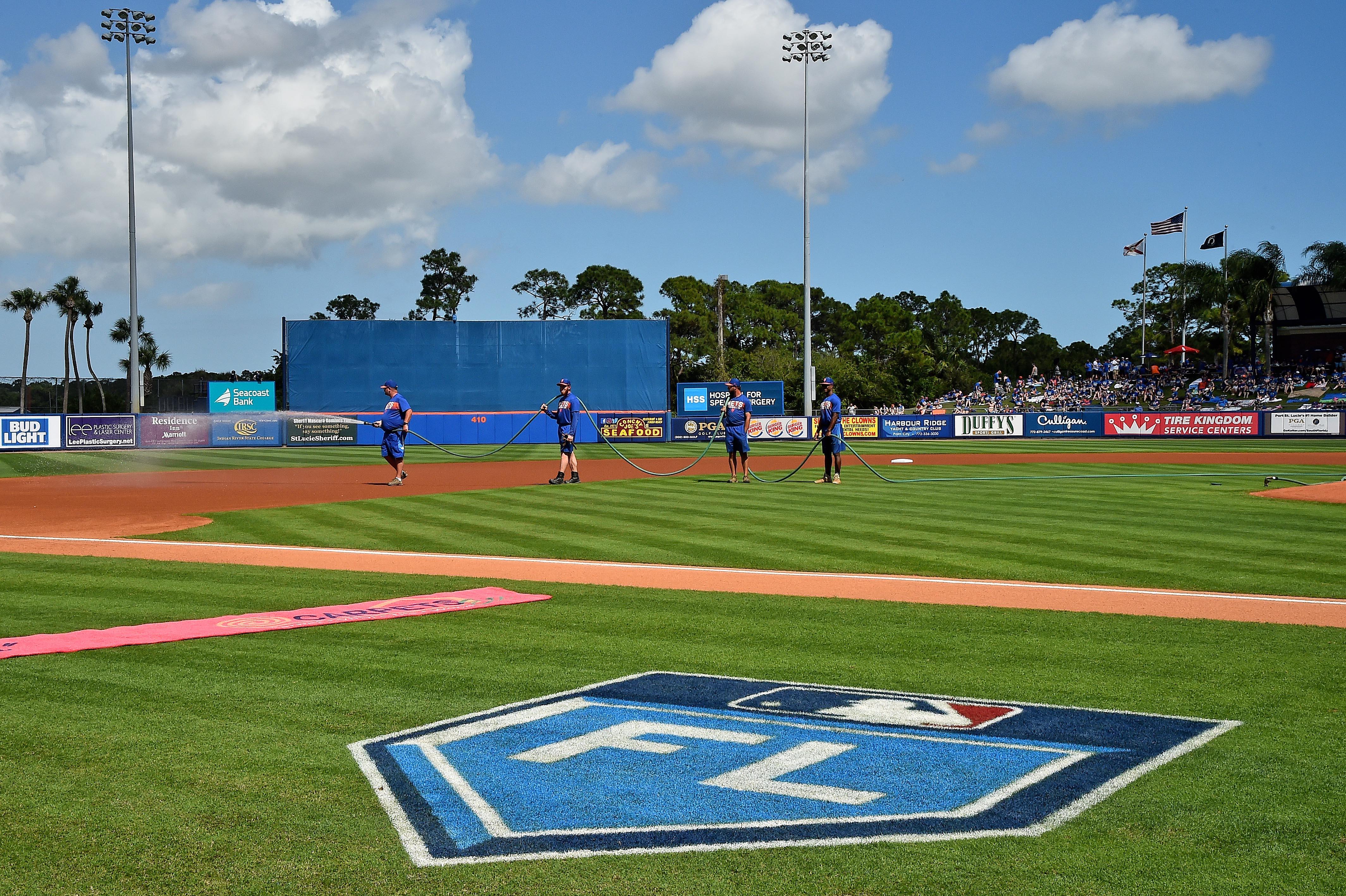 MLB: Spring Training-Atlanta Braves at New York Mets