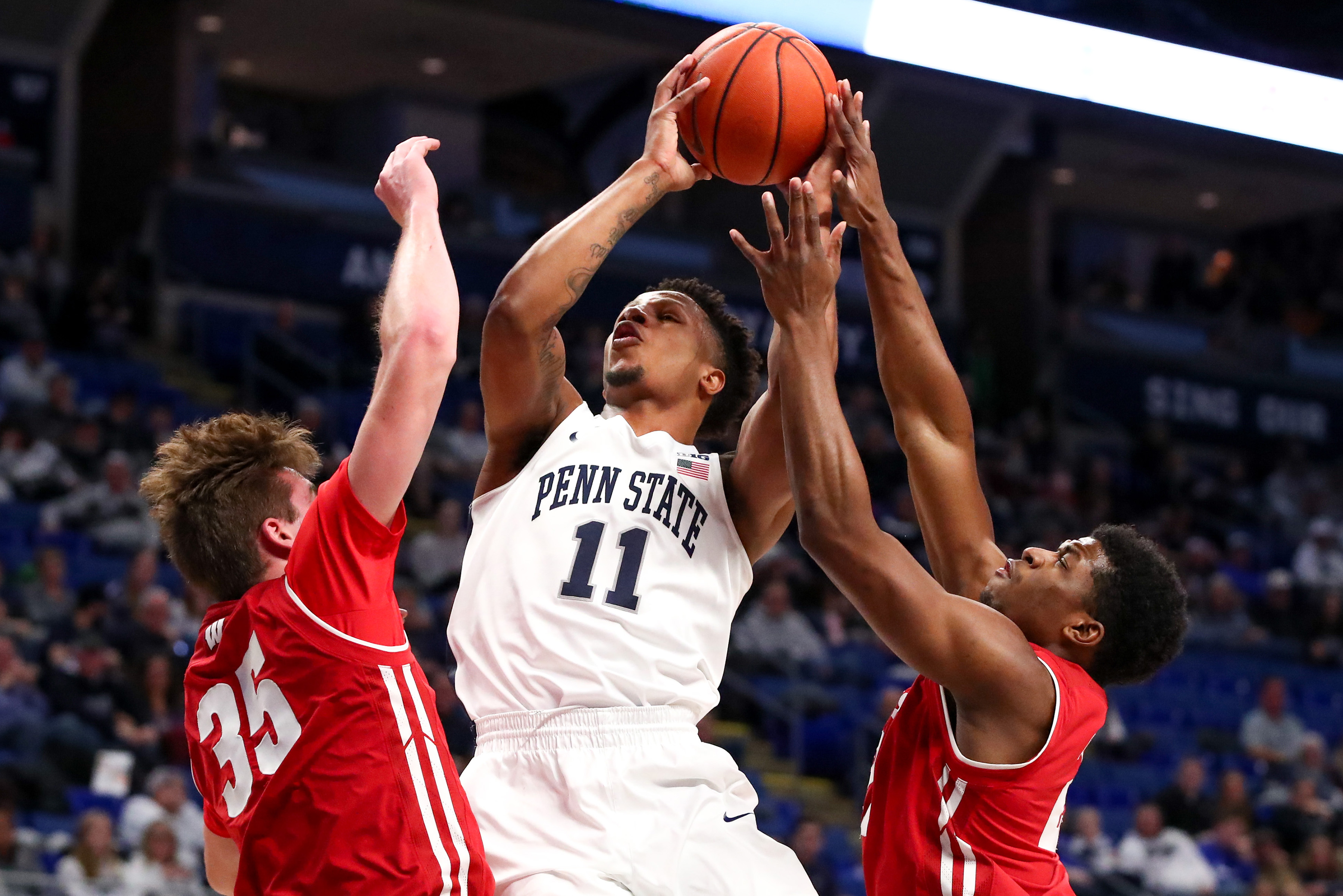 38c01b6d9f1a YAY HOOPS  Penn State at No. 19 Wisconsin Open Thread