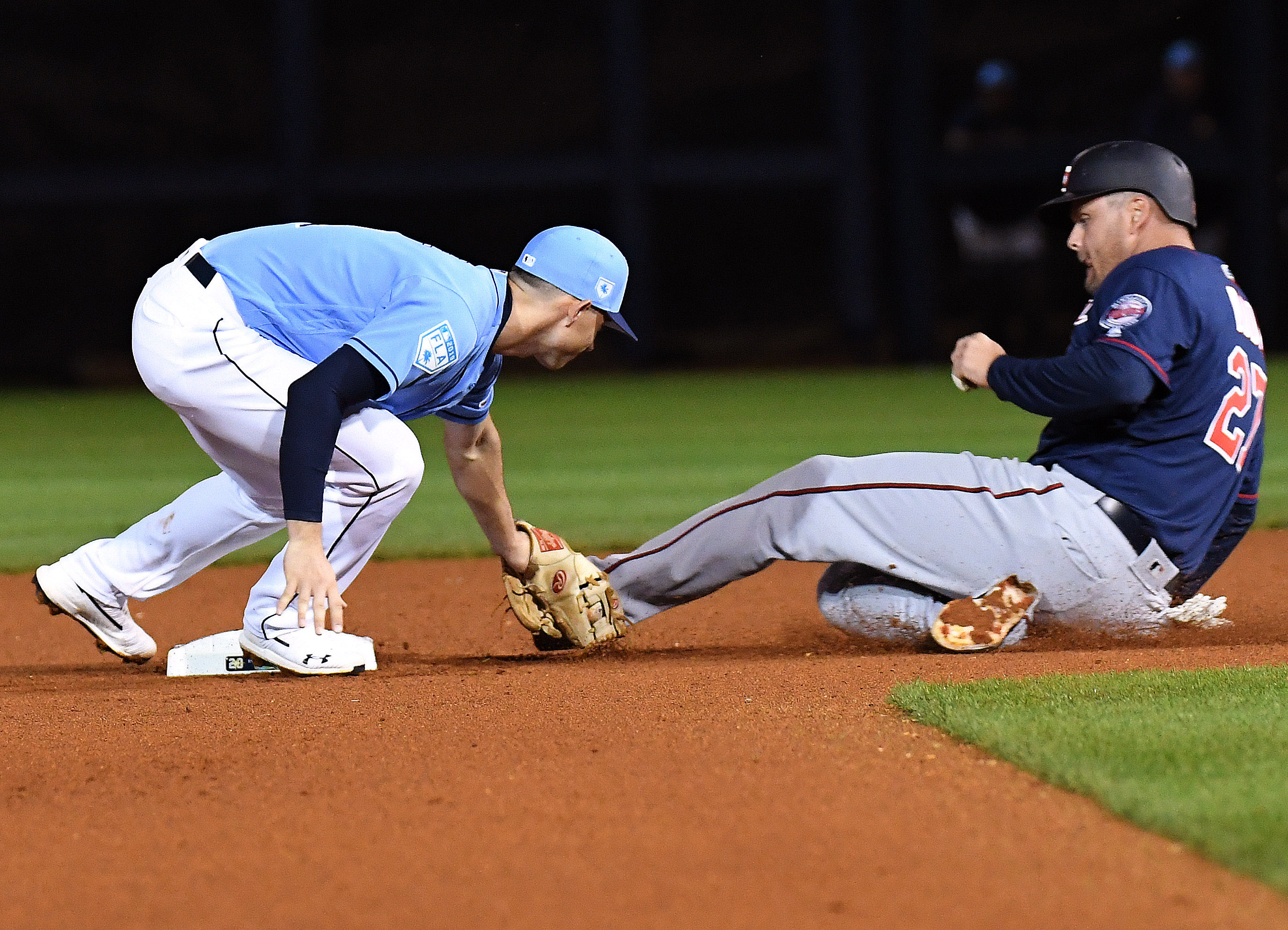 MLB: Spring Training-Minnesota Twins at Tampa Bay Rays