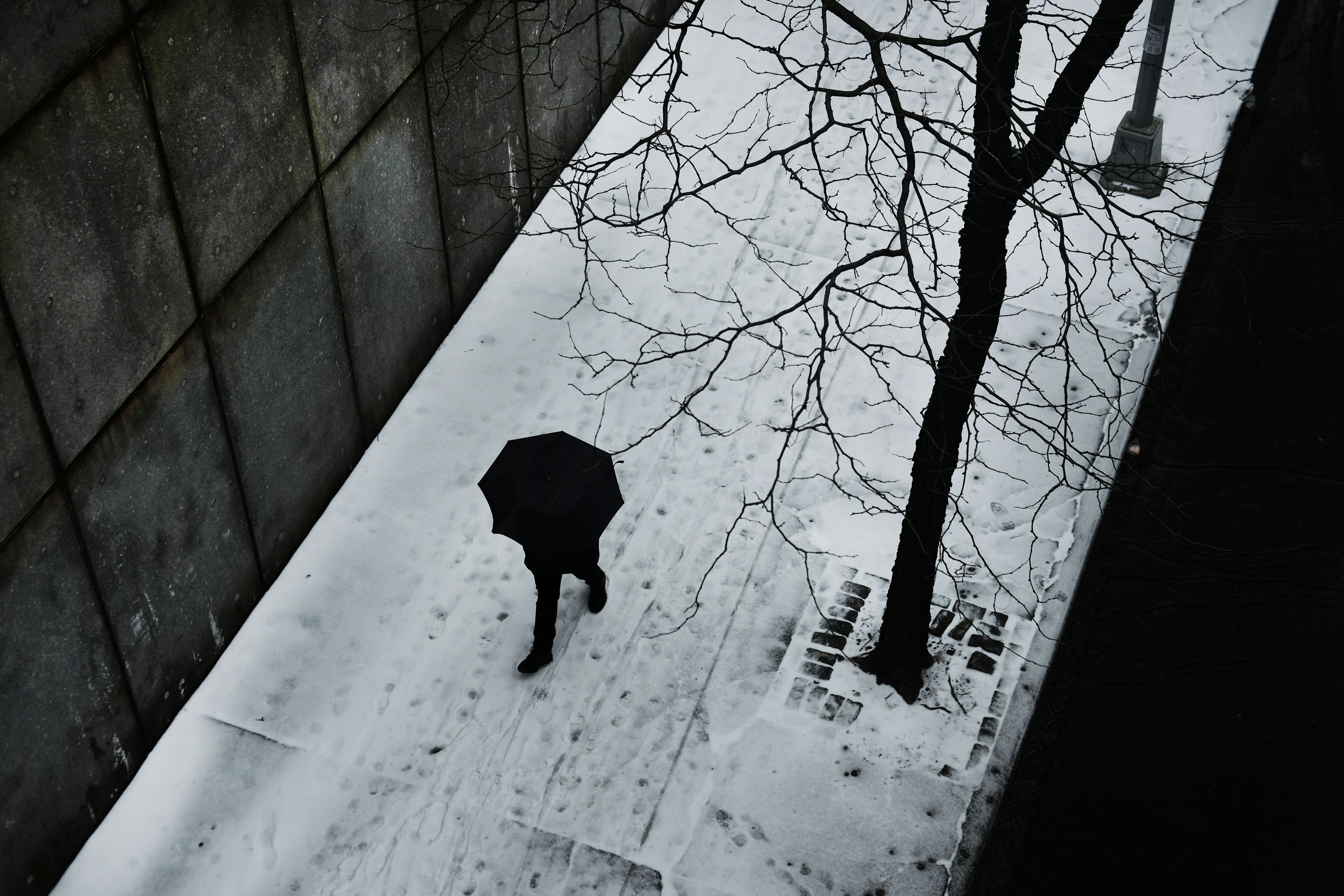 Winter Storms Brings Snow To New York City