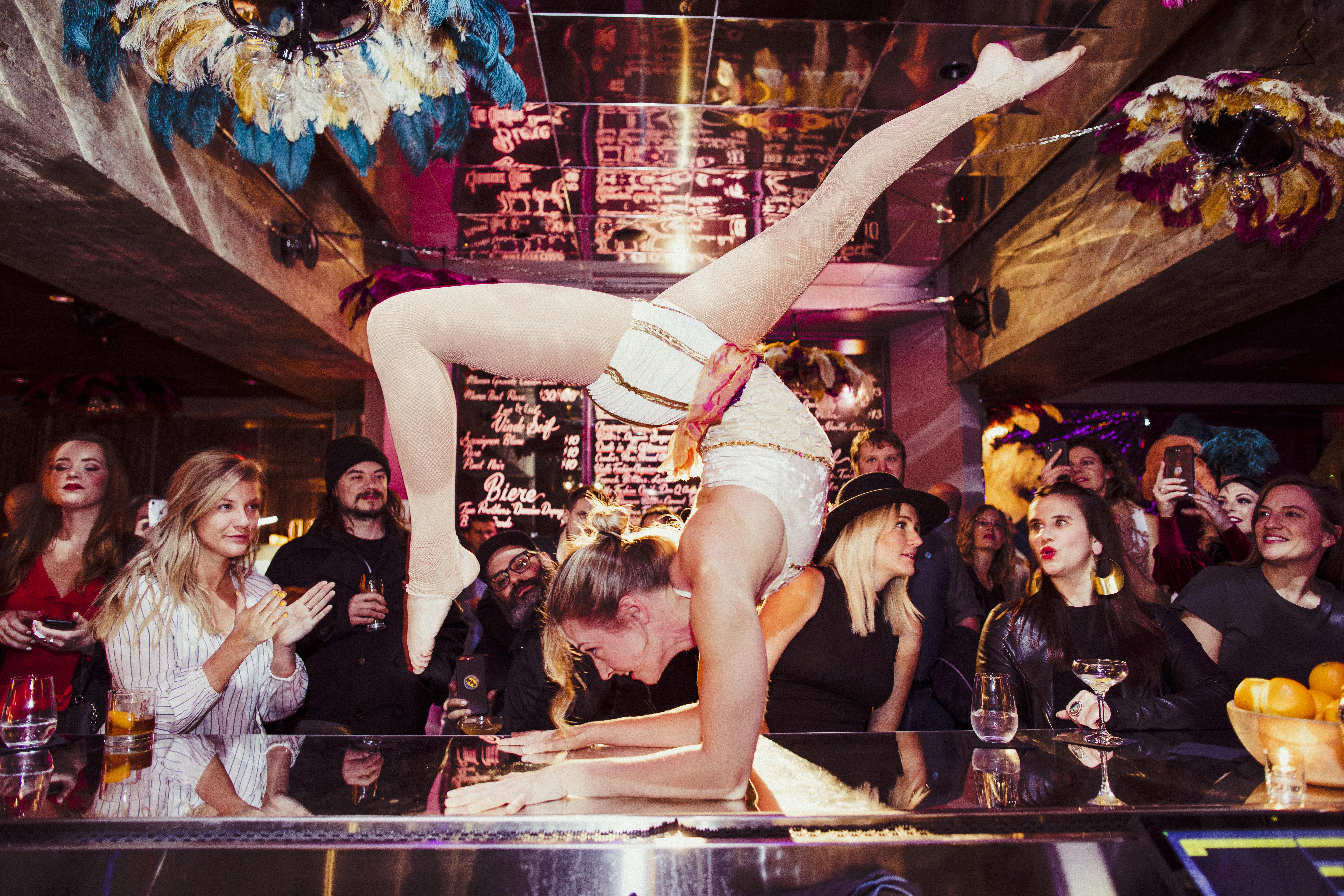 Step Inside Nashville's New Moulin Rouge-Inspired Pop-Up Bar