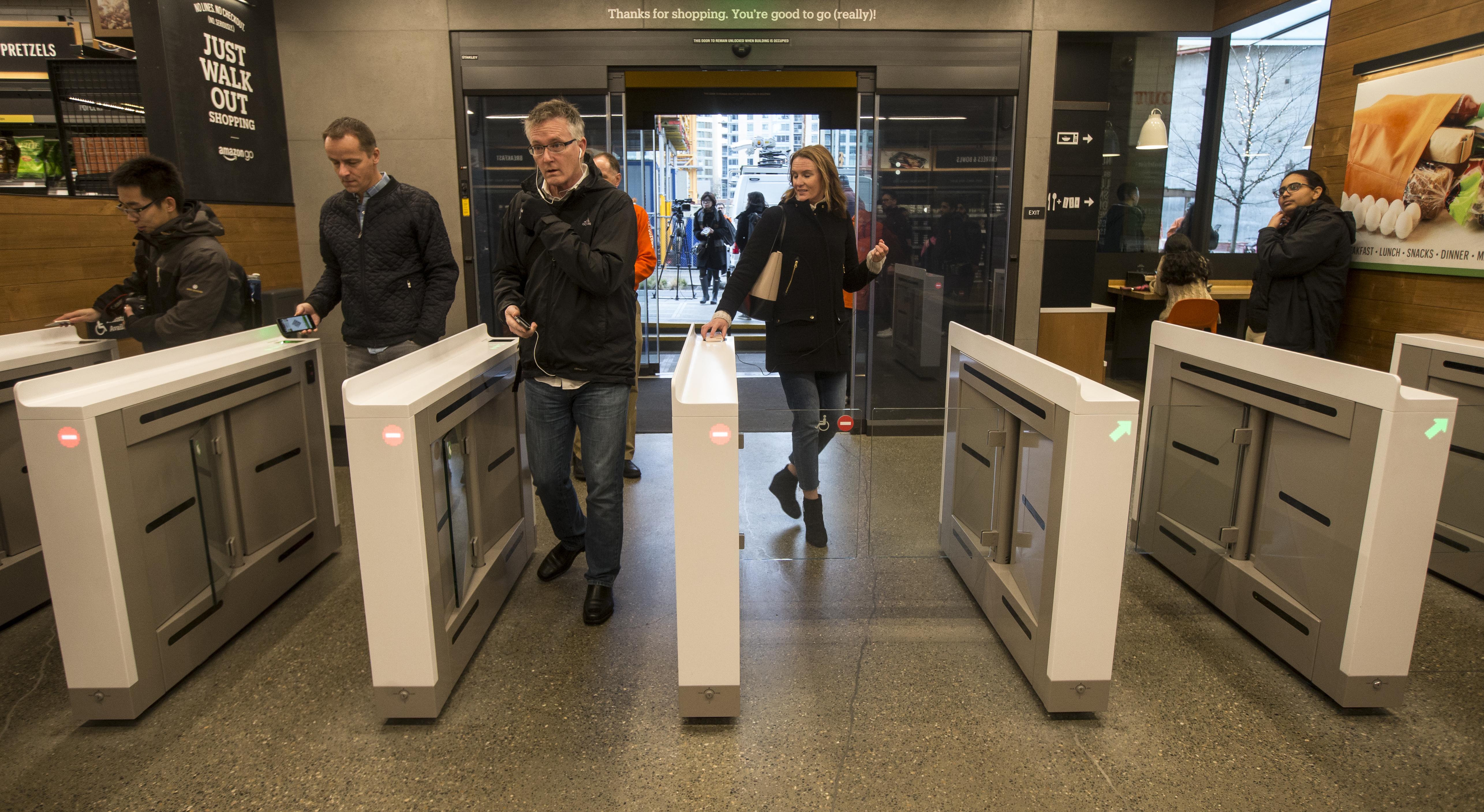 A Third Amazon Go Will Bring Cashierless Shopping to Market Street
