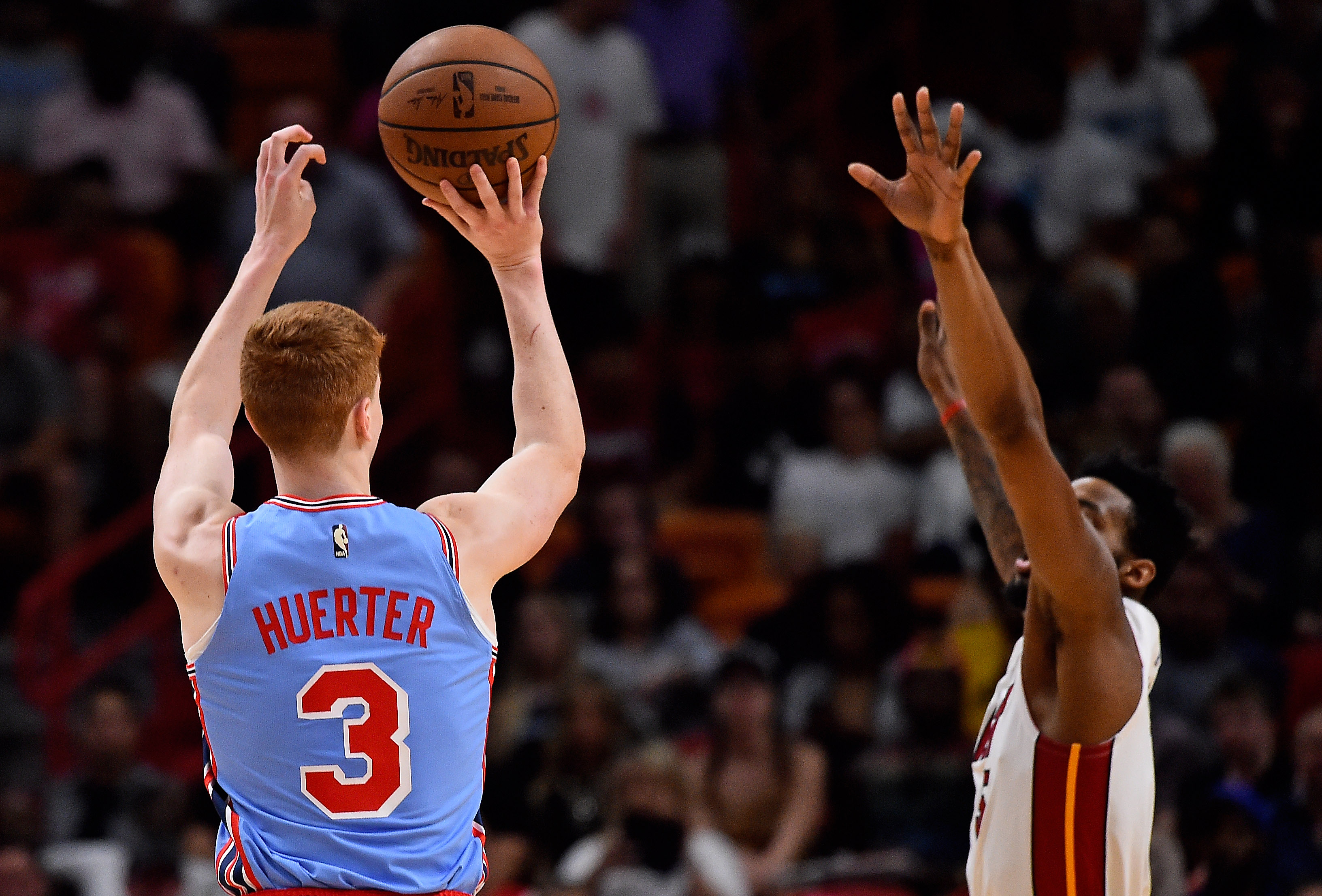 save off b390d 08e5c Maryland alum Kevin Huerter swapped jerseys with childhood ...