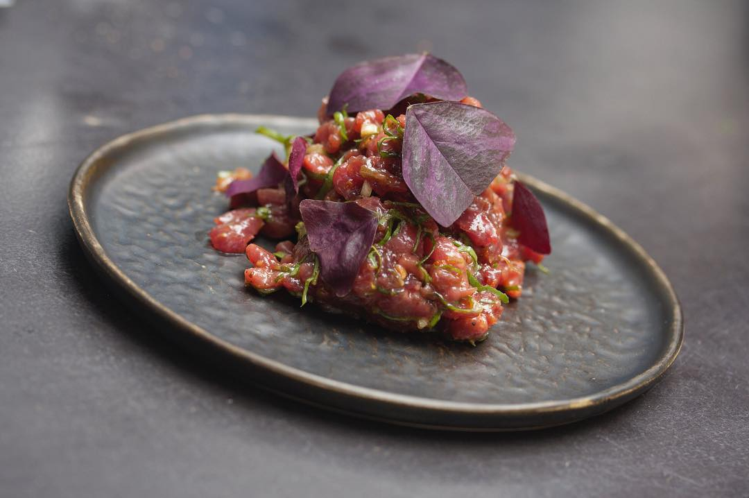 Som Saa chef's Anglo Thai residency will move to Mountgrove Bothy wine bar in north London with this raw beef dish