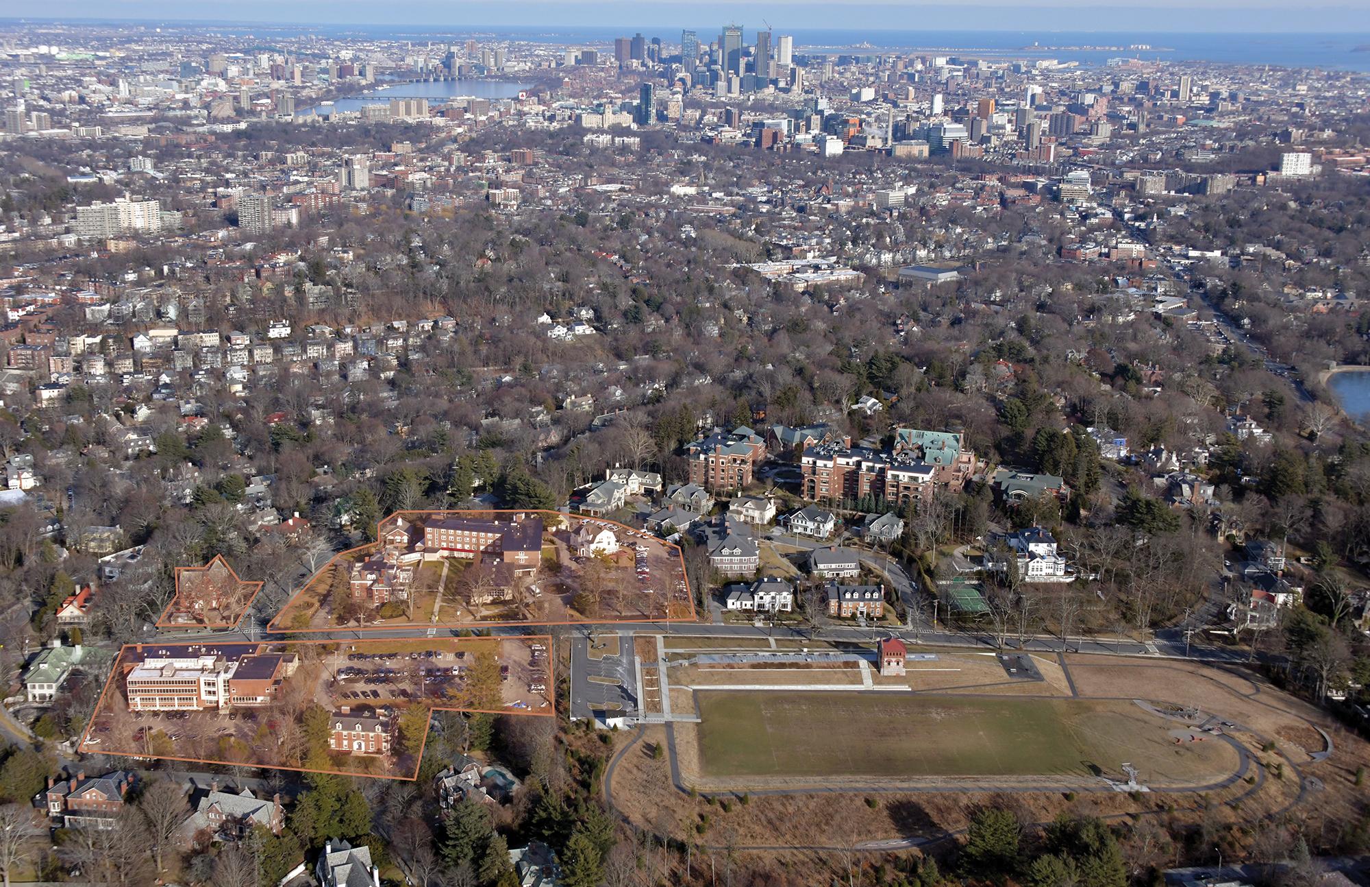 Brookline's Newbury College campus retailing for $40 million
