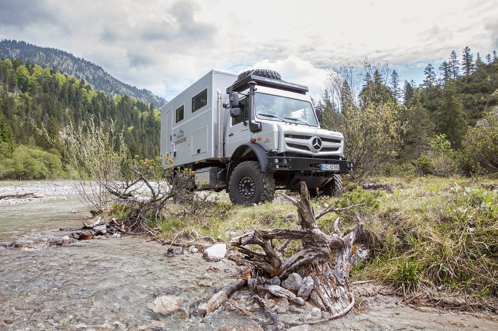 Go-anywhere camper lets you adventure off the grid