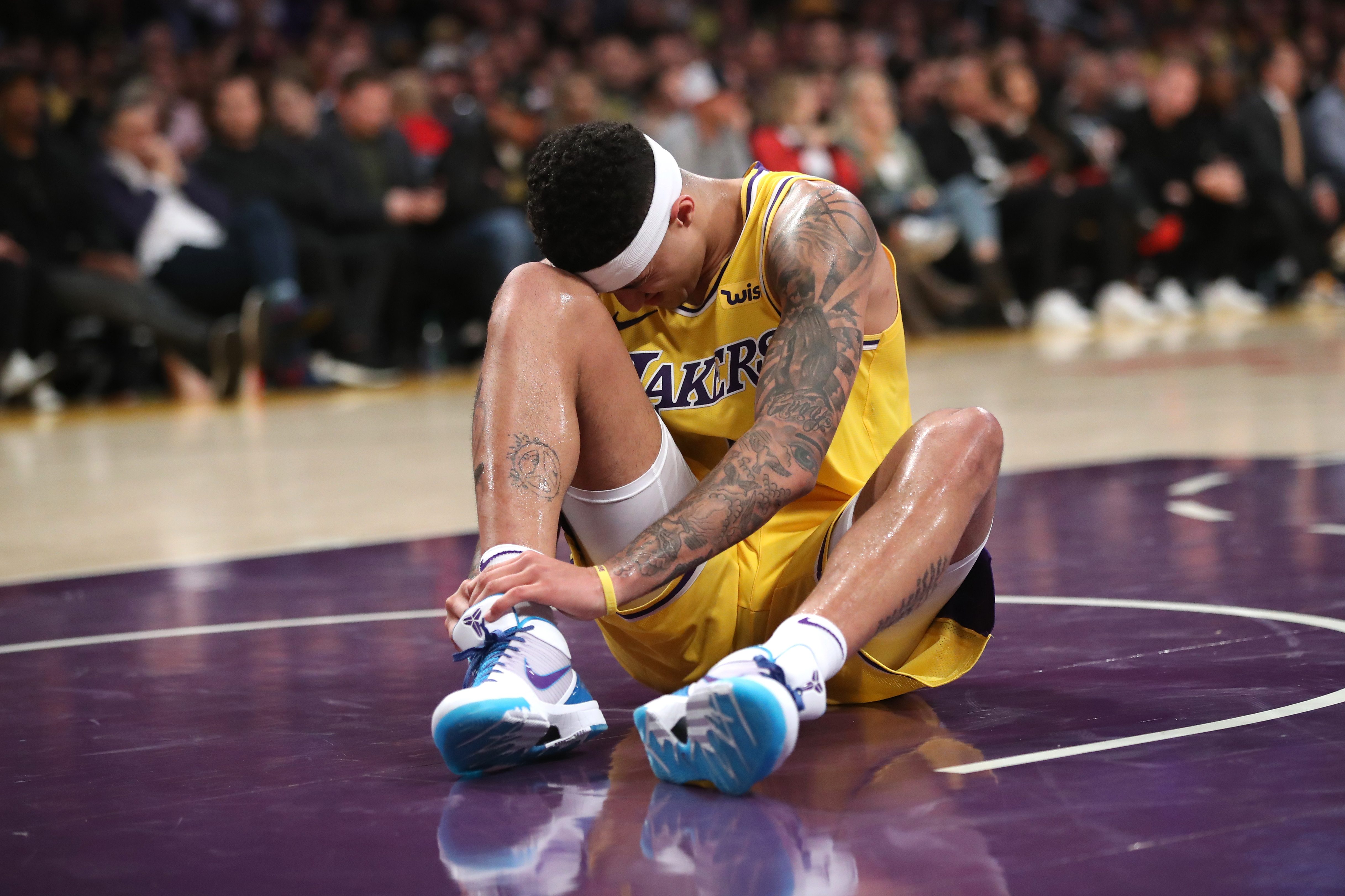 e8f9c0b4bbb6 Lakers Injury News  Kyle Kuzma ruled out for Wednesday vs. Nuggets ...
