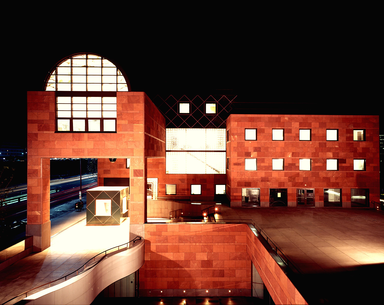 MOCA was Pritzker Prize winner Arata Isozaki's first U.S. commission