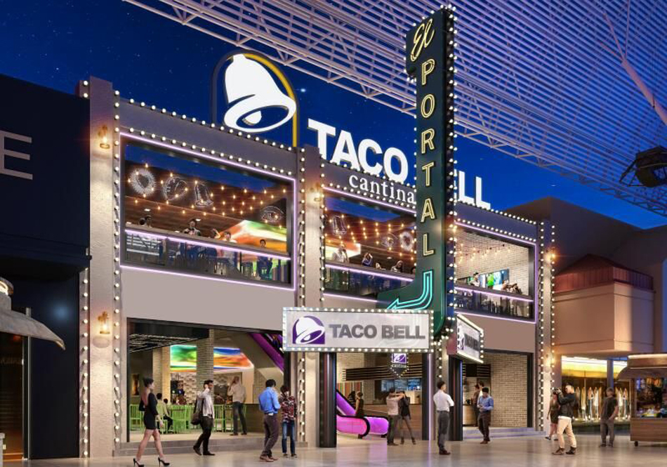 Taco Bell Cantina downtown rendering