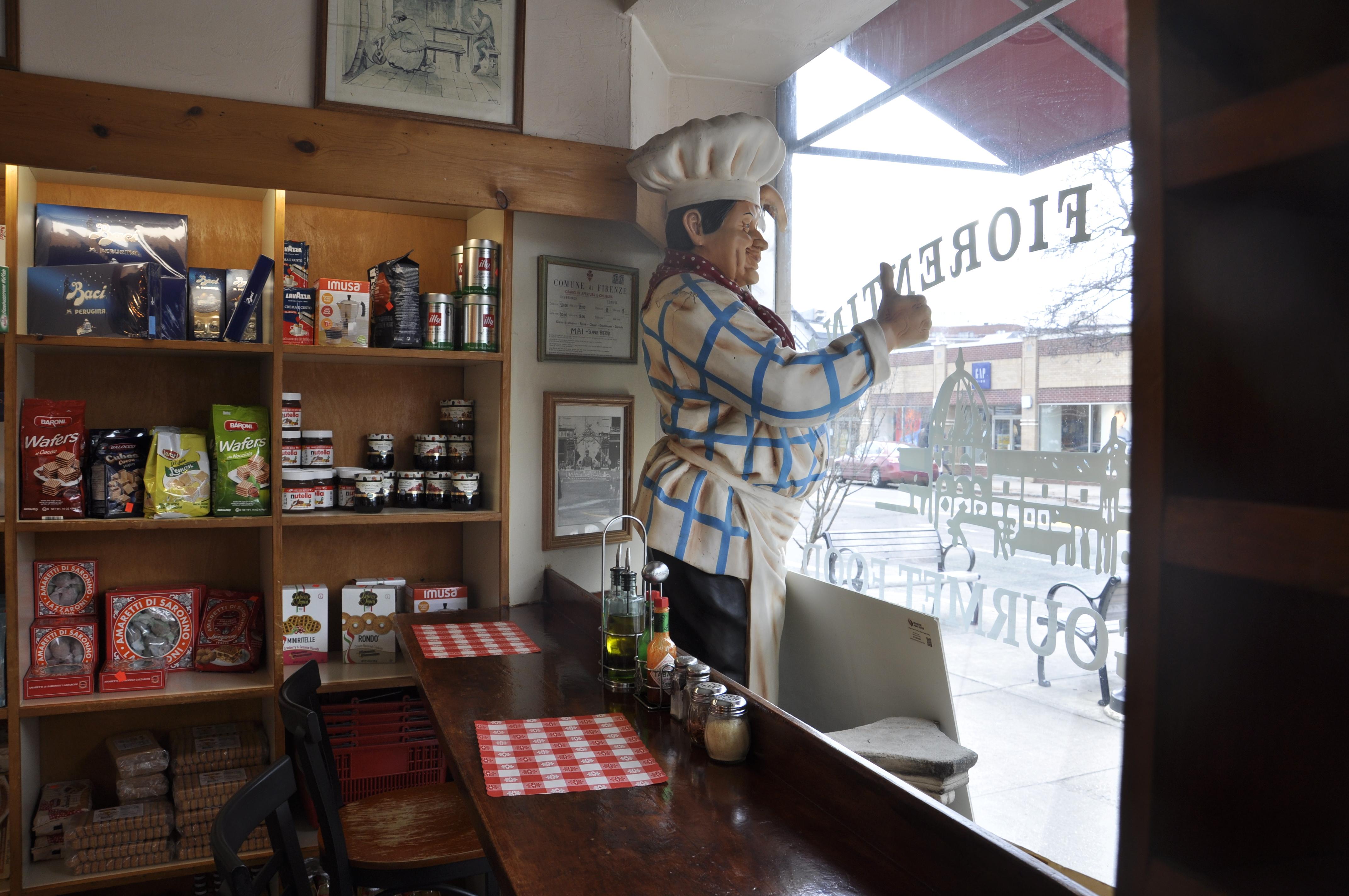 Inside Bottega Fiorentina in Brookline's Coolidge Corner