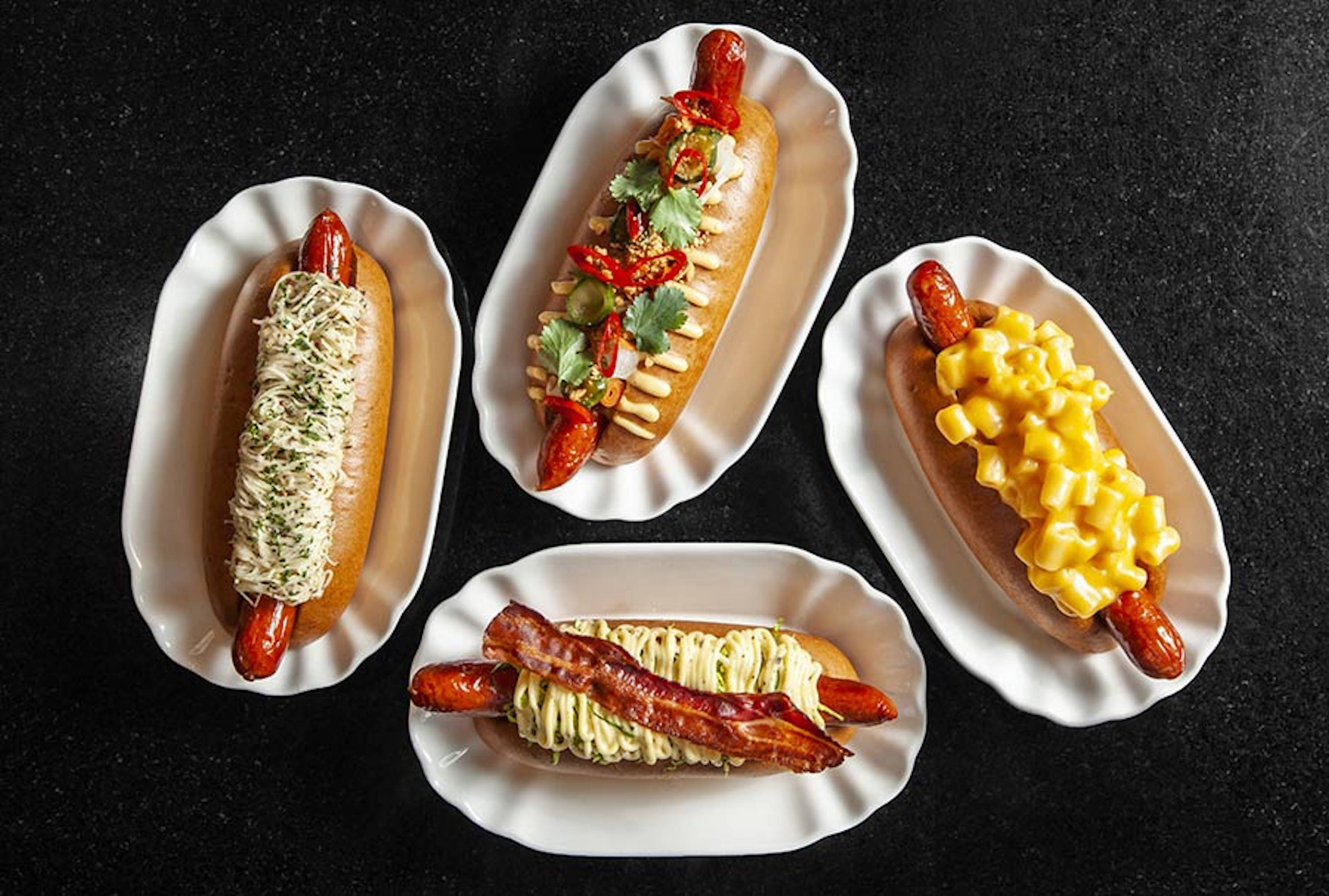Bubbledogs hot dog and champagne restaurant in London will develop a new menu, at the front of Michelin-starred restaurant Kitchen Table
