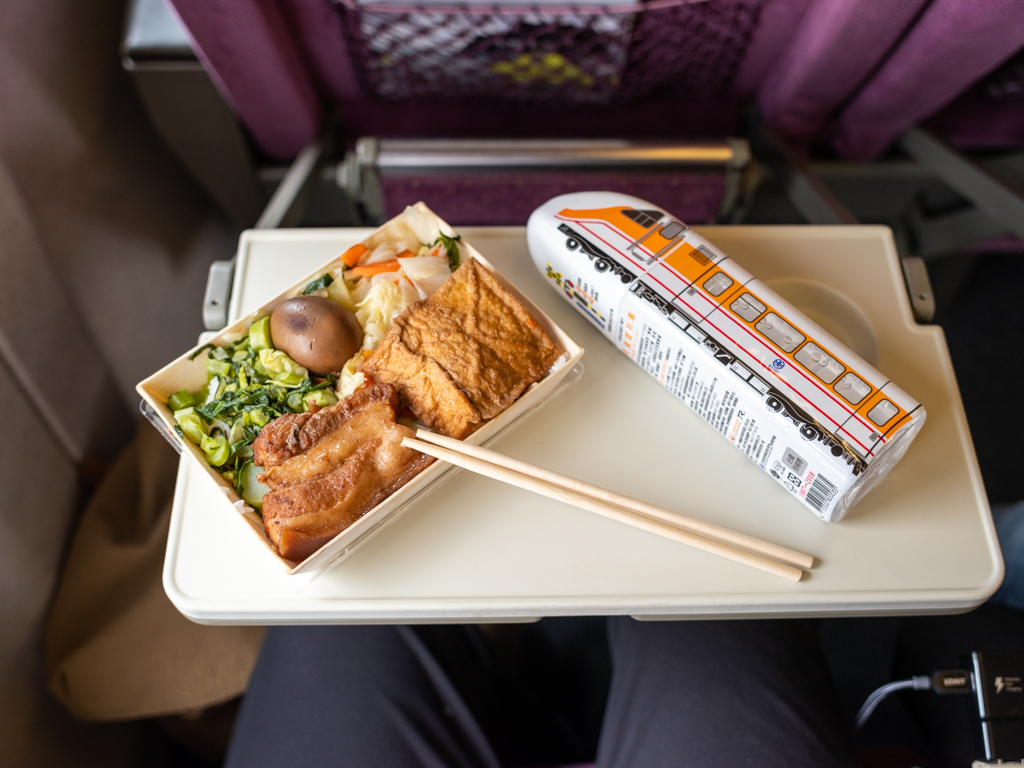 Even Train Rides Are a Chance to Eat Outrageously Well in Taipei