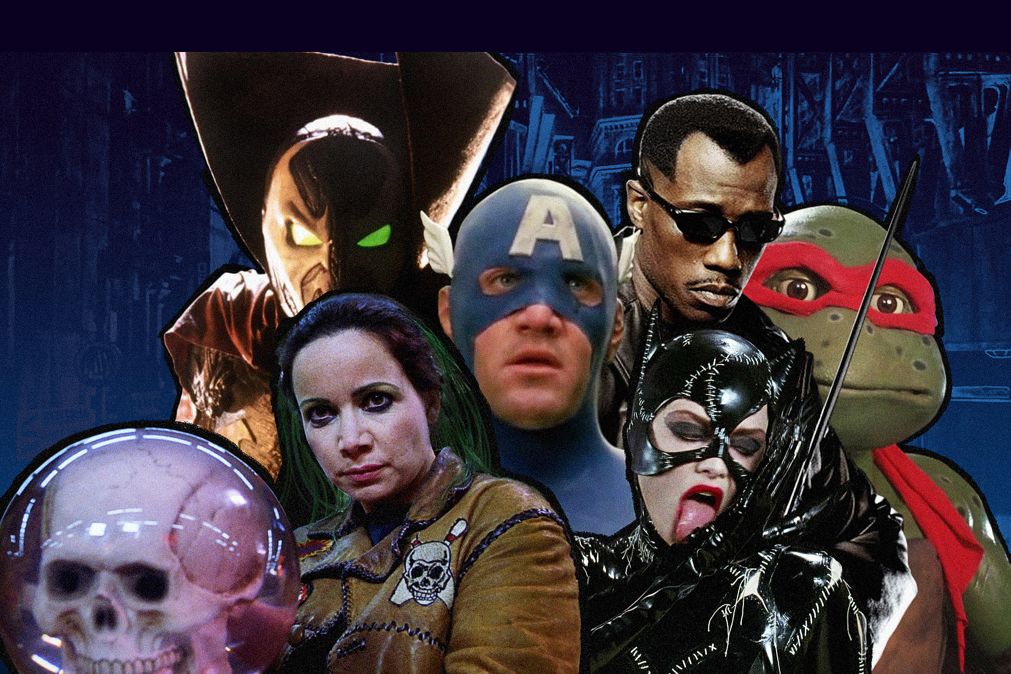The 25 best and worst comic book movies of the '90s