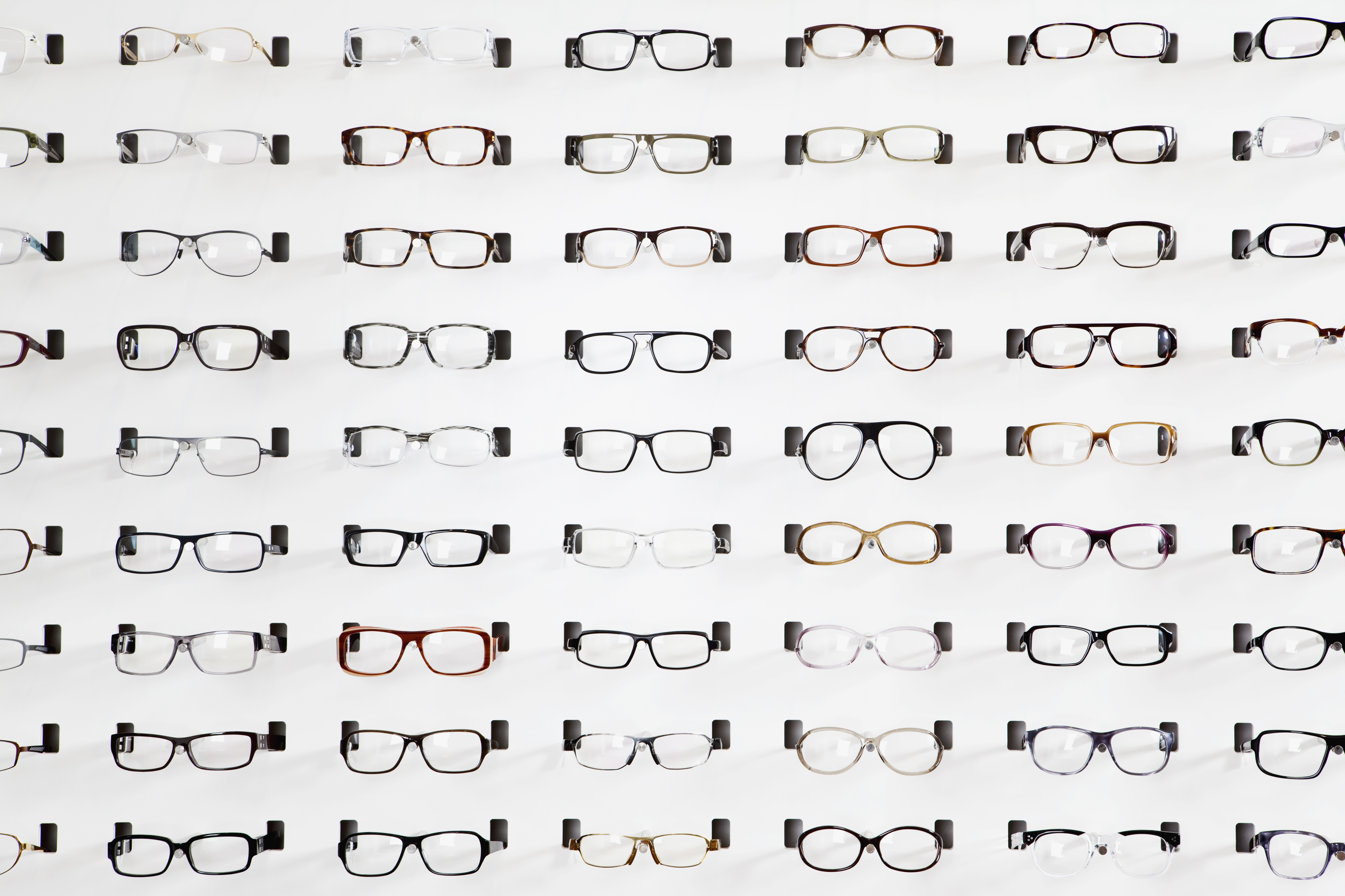 LensCrafter, Ray-Ban, and designer brands all mark up their glasses.