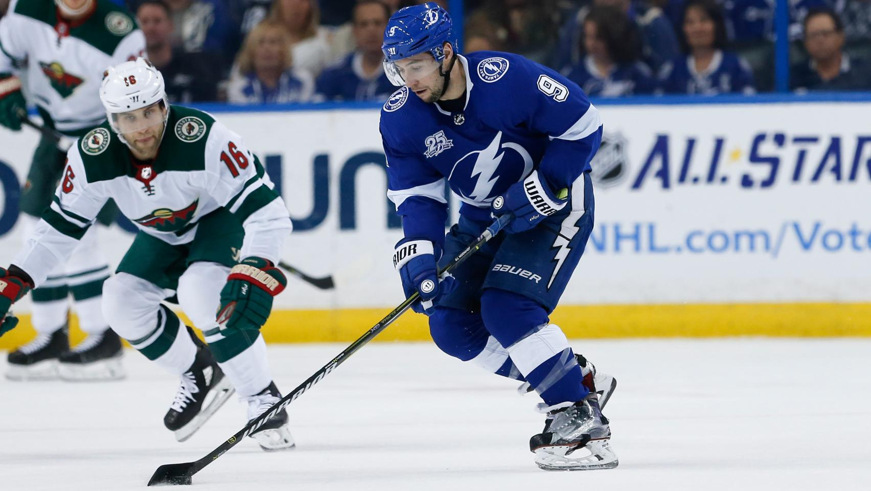 2def1e64ca8 Tampa Bay Lightning vs. Minnesota Wild preview  The Bolts can clinch a  playoff spot tonight