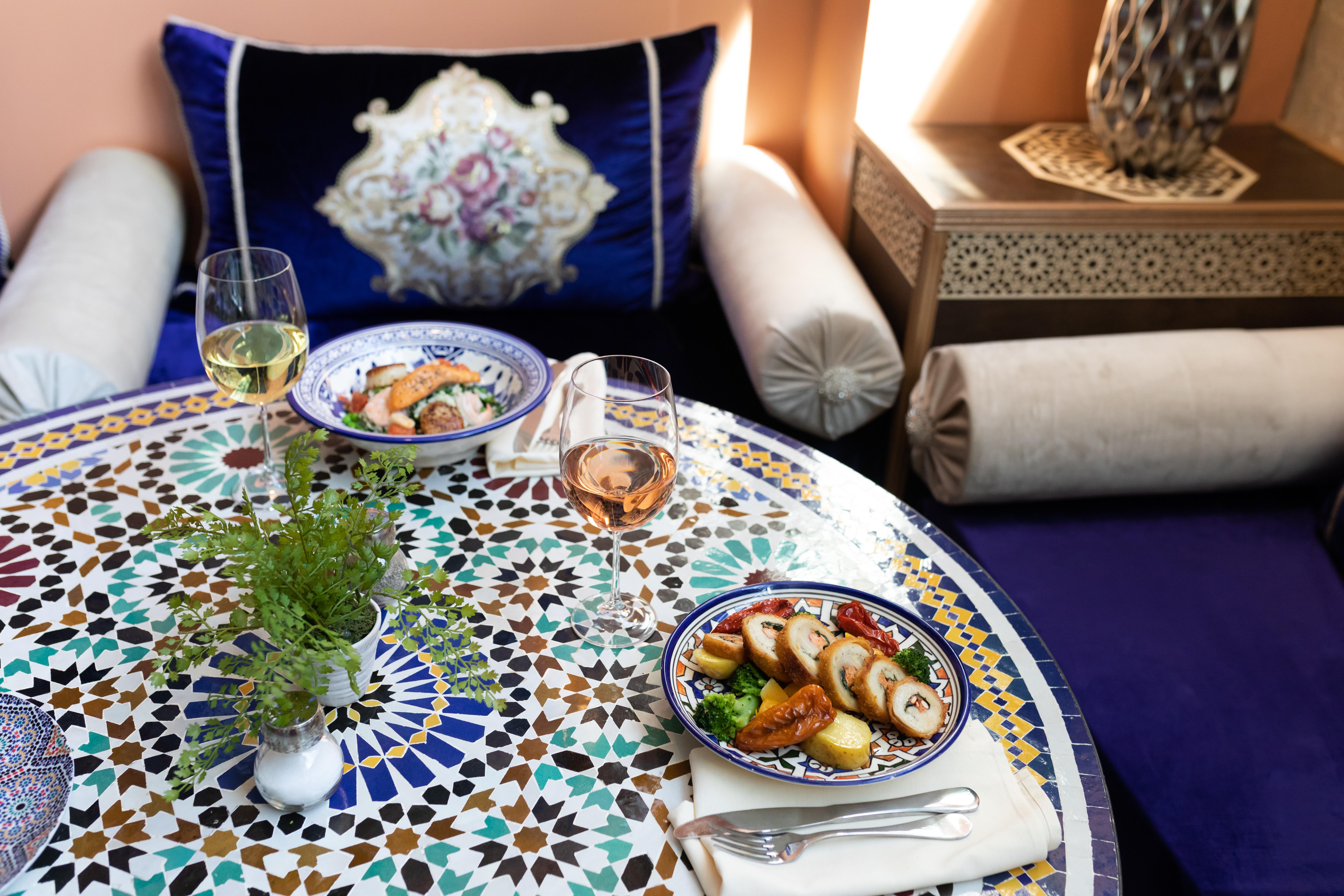 Enter the Mediterranean Splendor of Midtown Global Market's New Restaurant