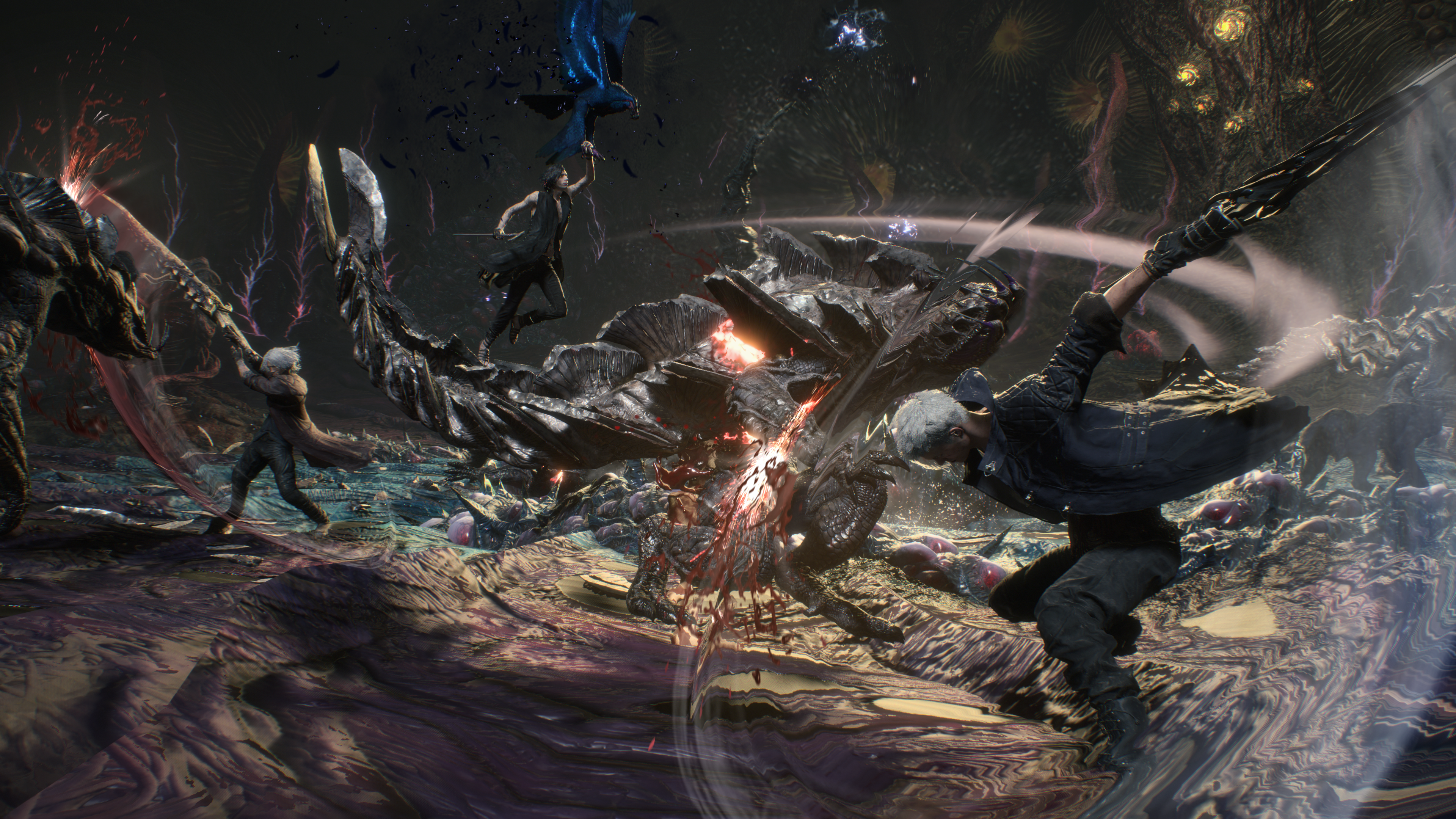 Devil May Cry 5 guide to Nero, Dante, and V