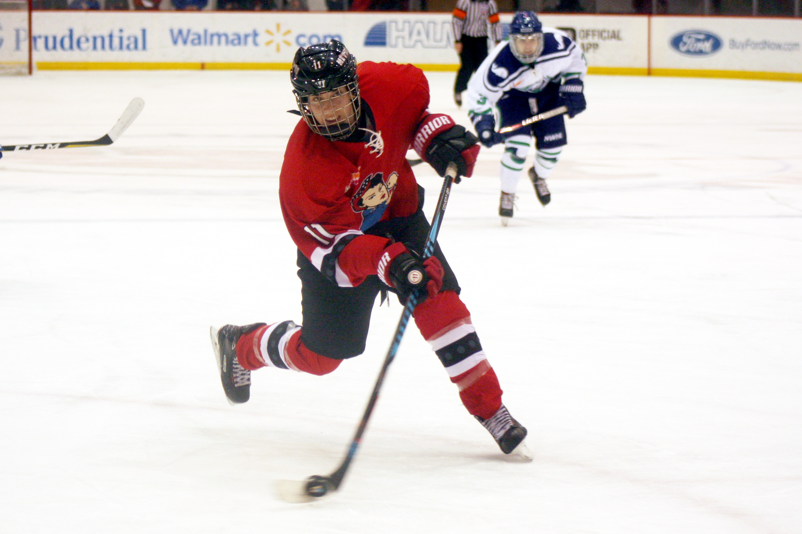 6f19b2245 Goal by Goal: Riveters win NWHL play-in game, 5-2