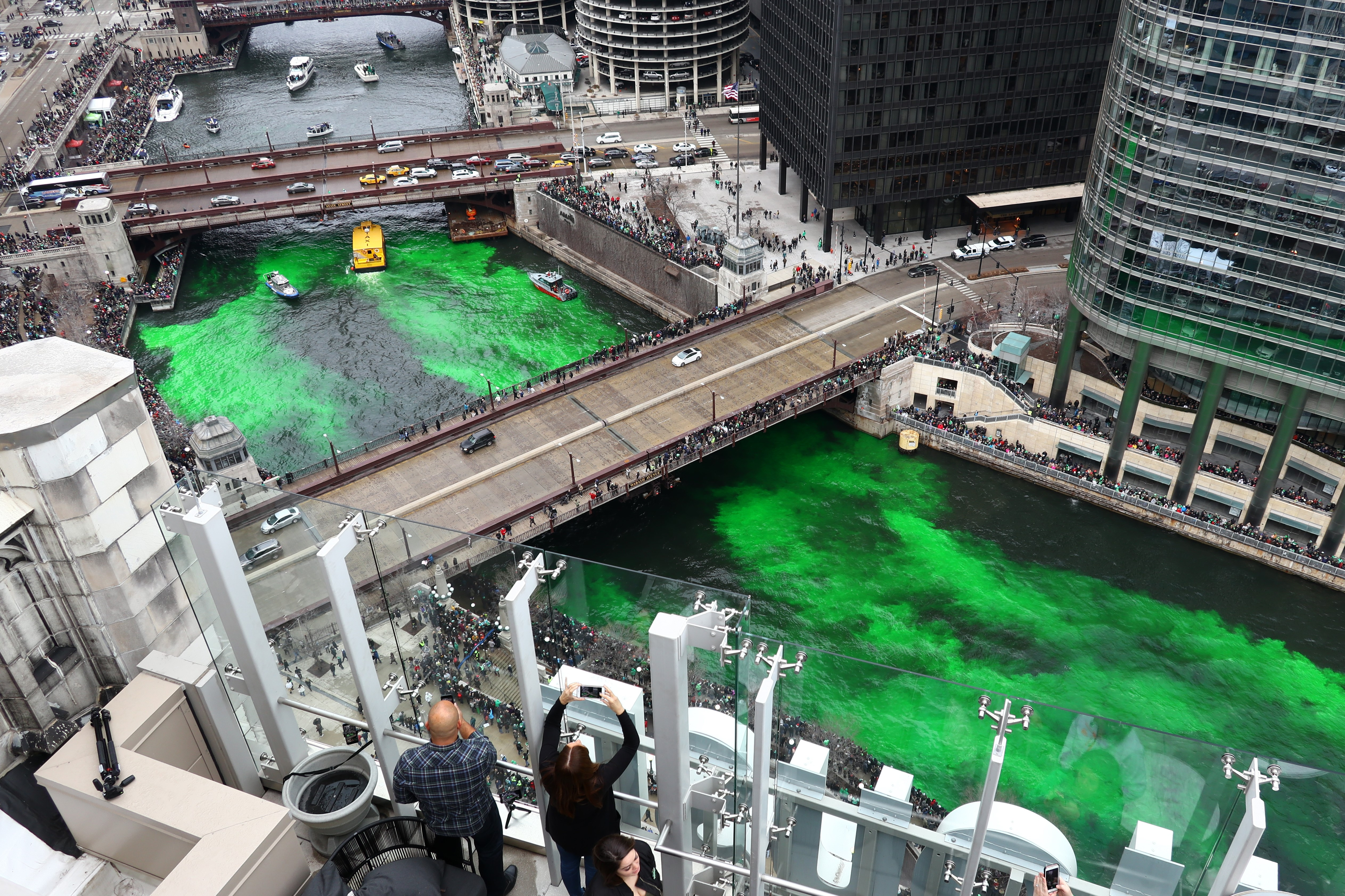 Chicago St  Patrick's Day 2019: parades, river dyeing