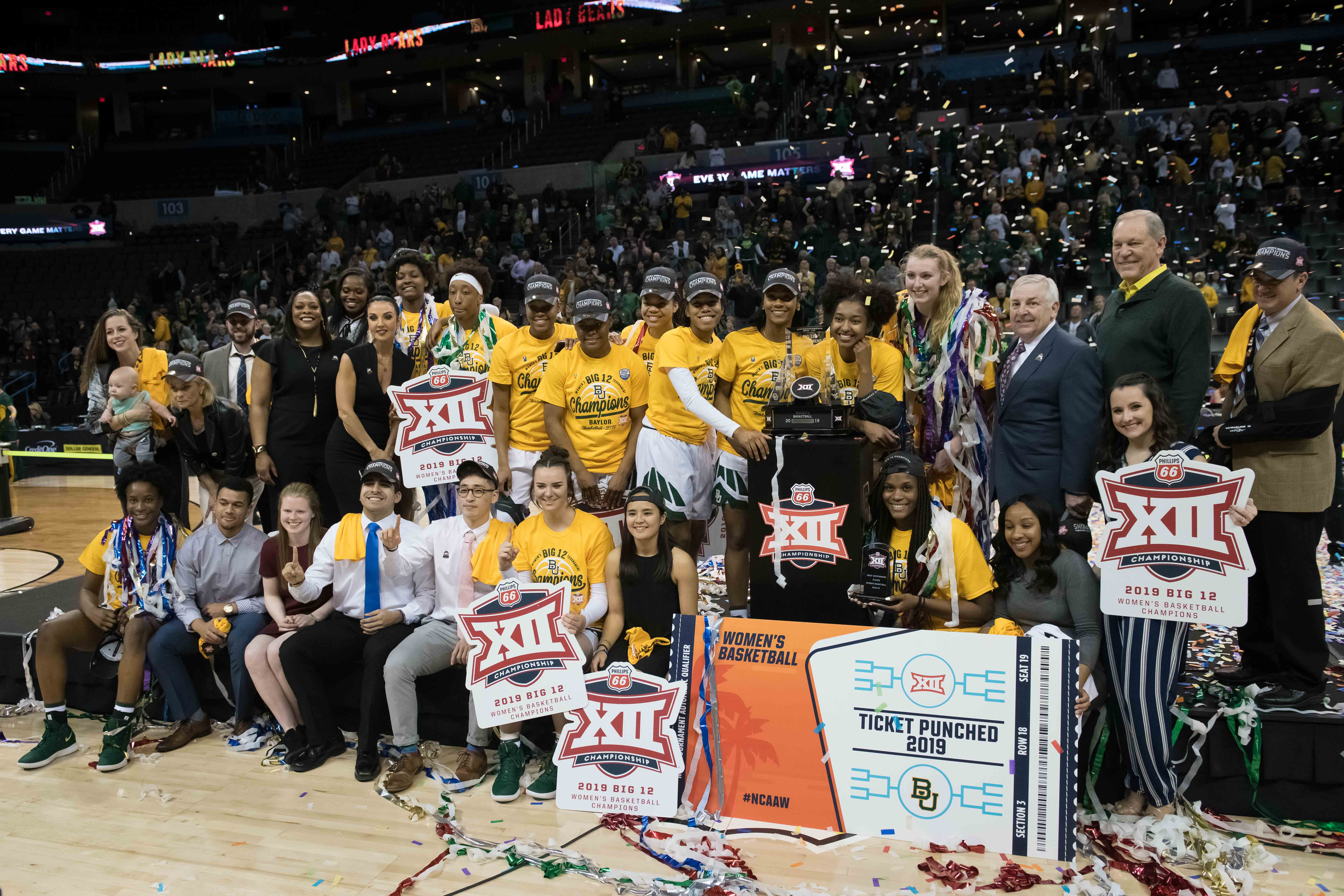 NCAA Womens Basketball: Big 12 Conference Tournament - Iowa State vs Baylor