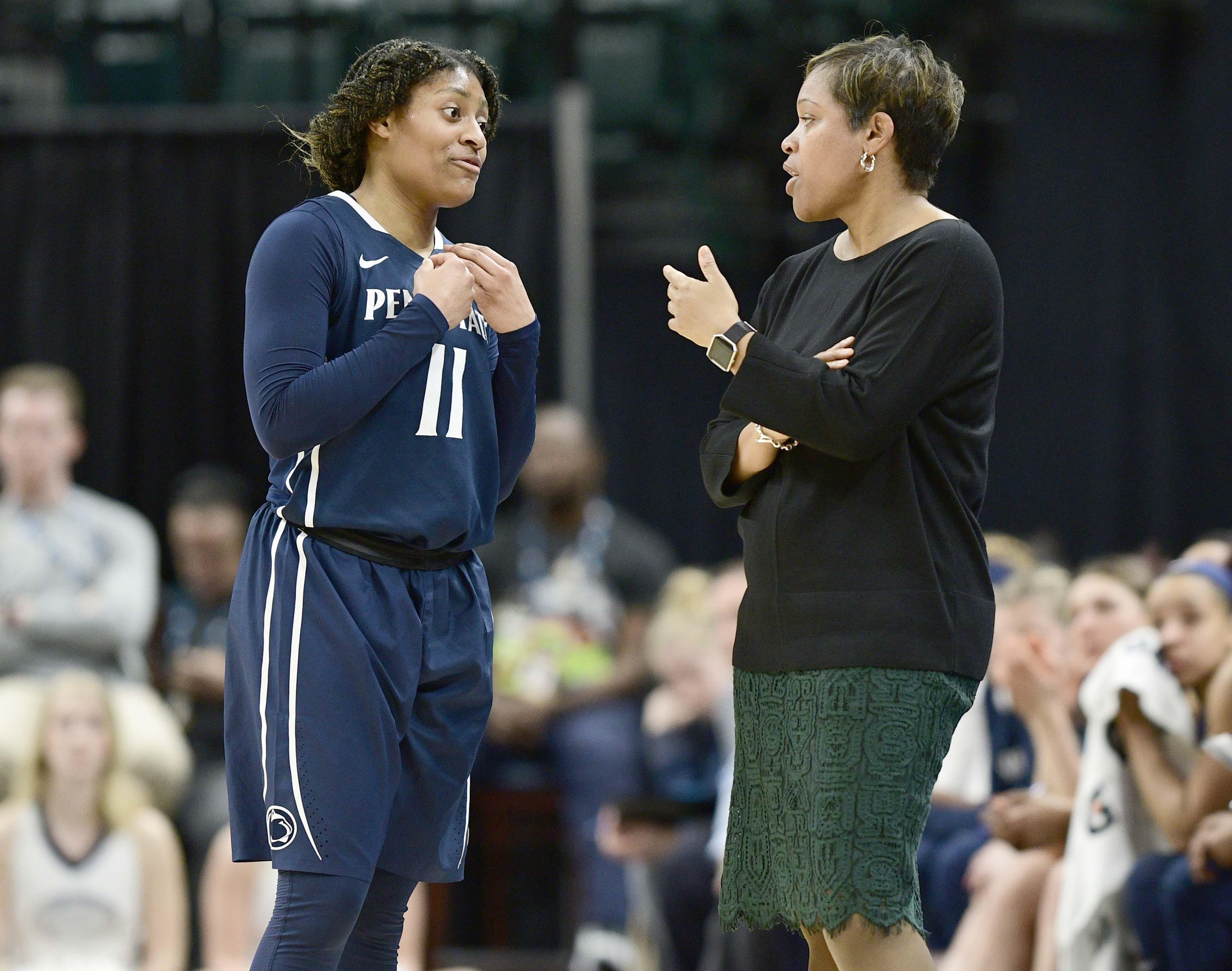 NCAA Womens Basketball: Big Ten Conference Tournament Michigan vs Penn State