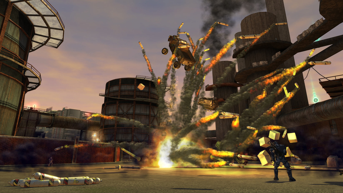 Free game PSA: Crackdown 2 is backward compatible on Xbox One, too