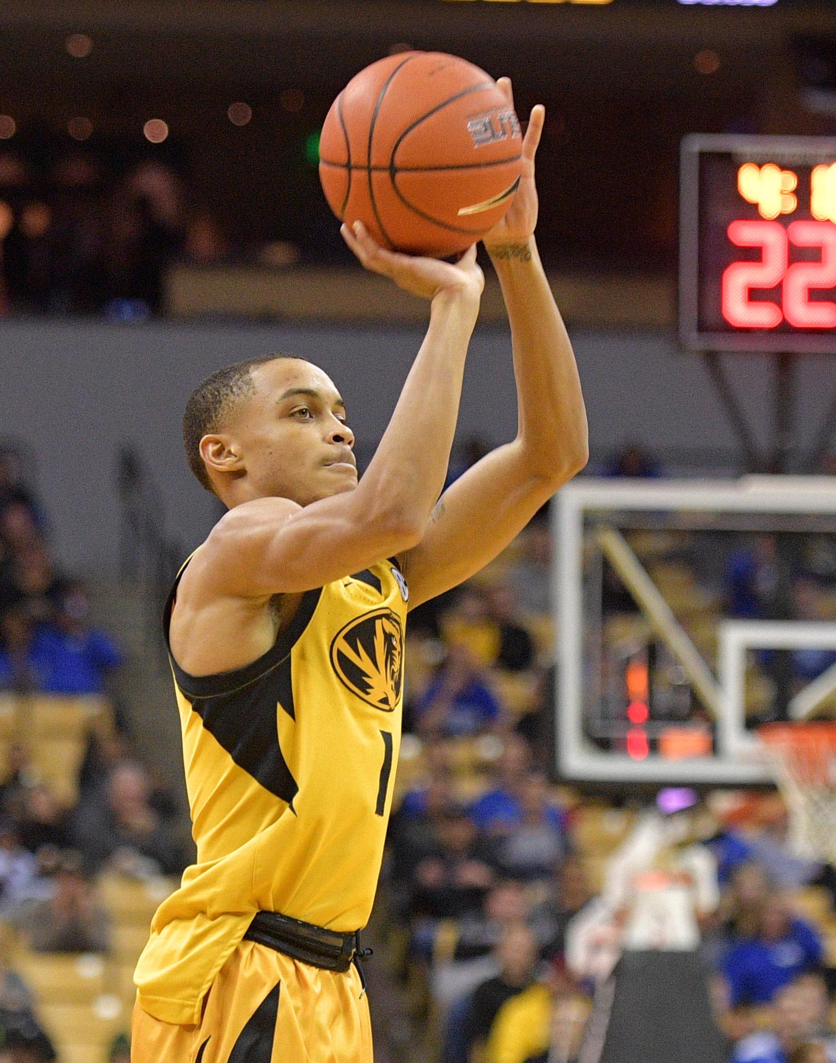 NCAA Basketball: Kentucky at Missouri