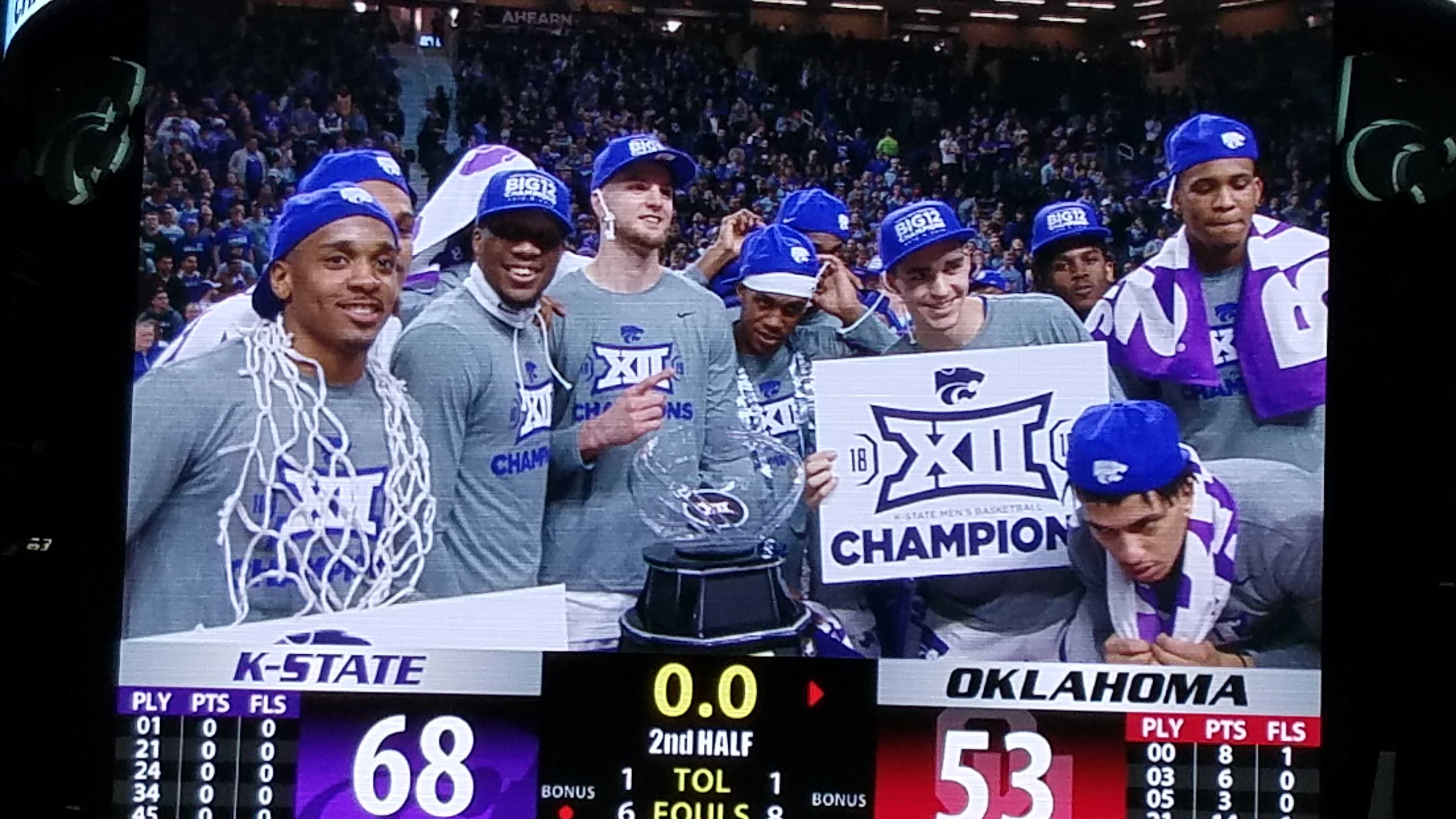 a57dc43a3208 Kansas State routs Oklahoma 68-53 to capture Big 12 title - Bring On ...