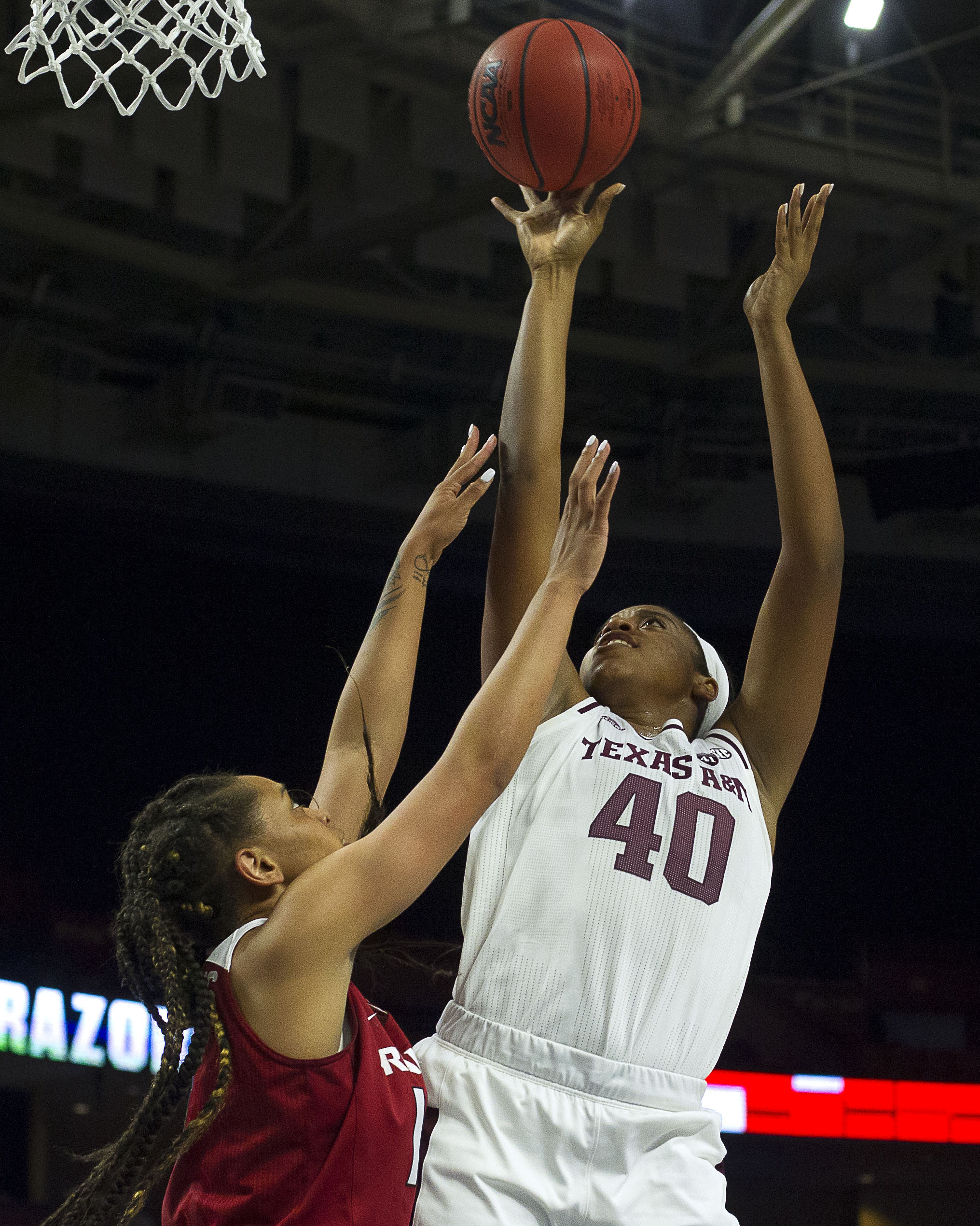 NCAA Womens Basketball: SEC Conference Tournament - Texas A&M vs Arkansas