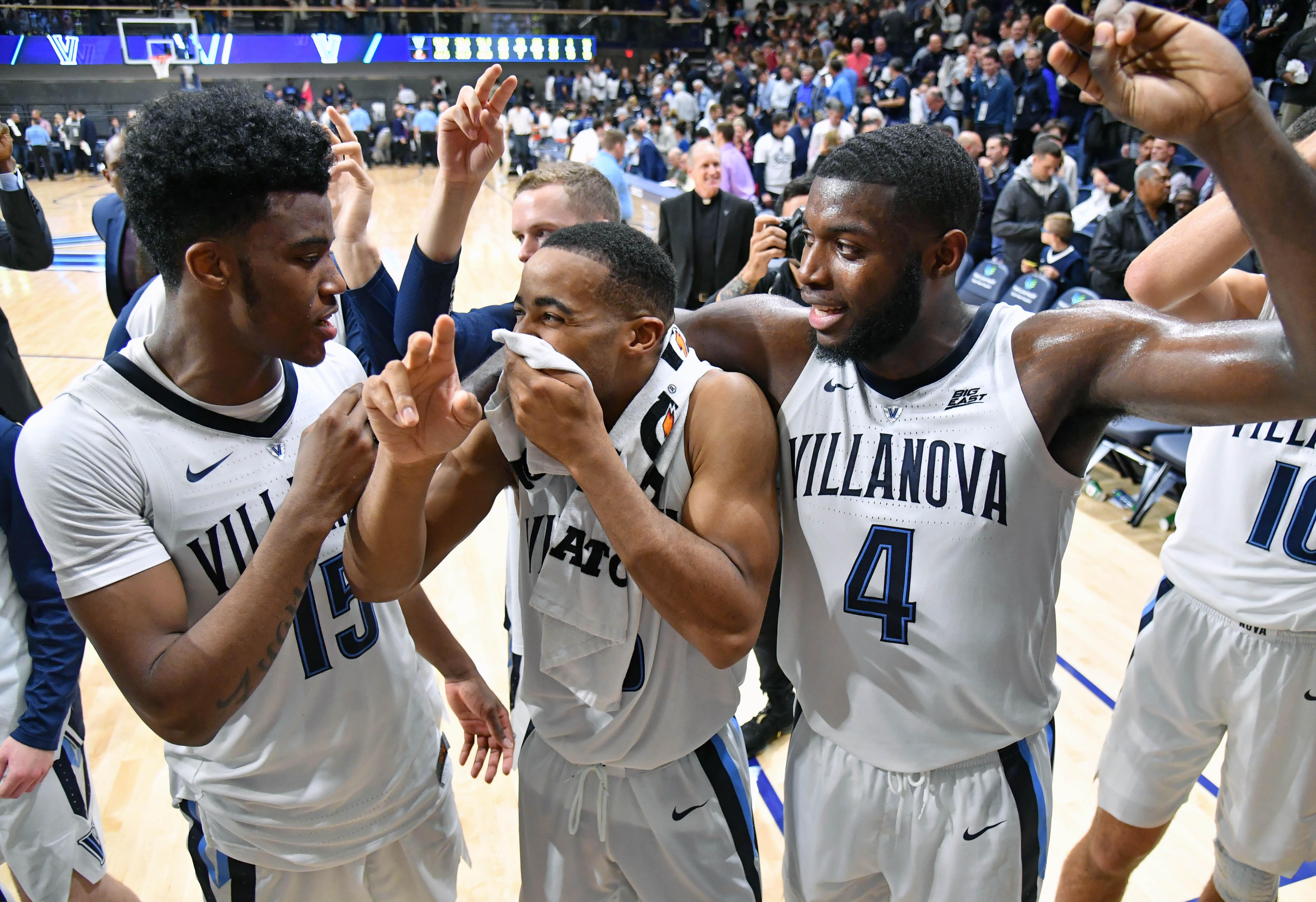 NCAA Basketball: Morgan State at Villanova