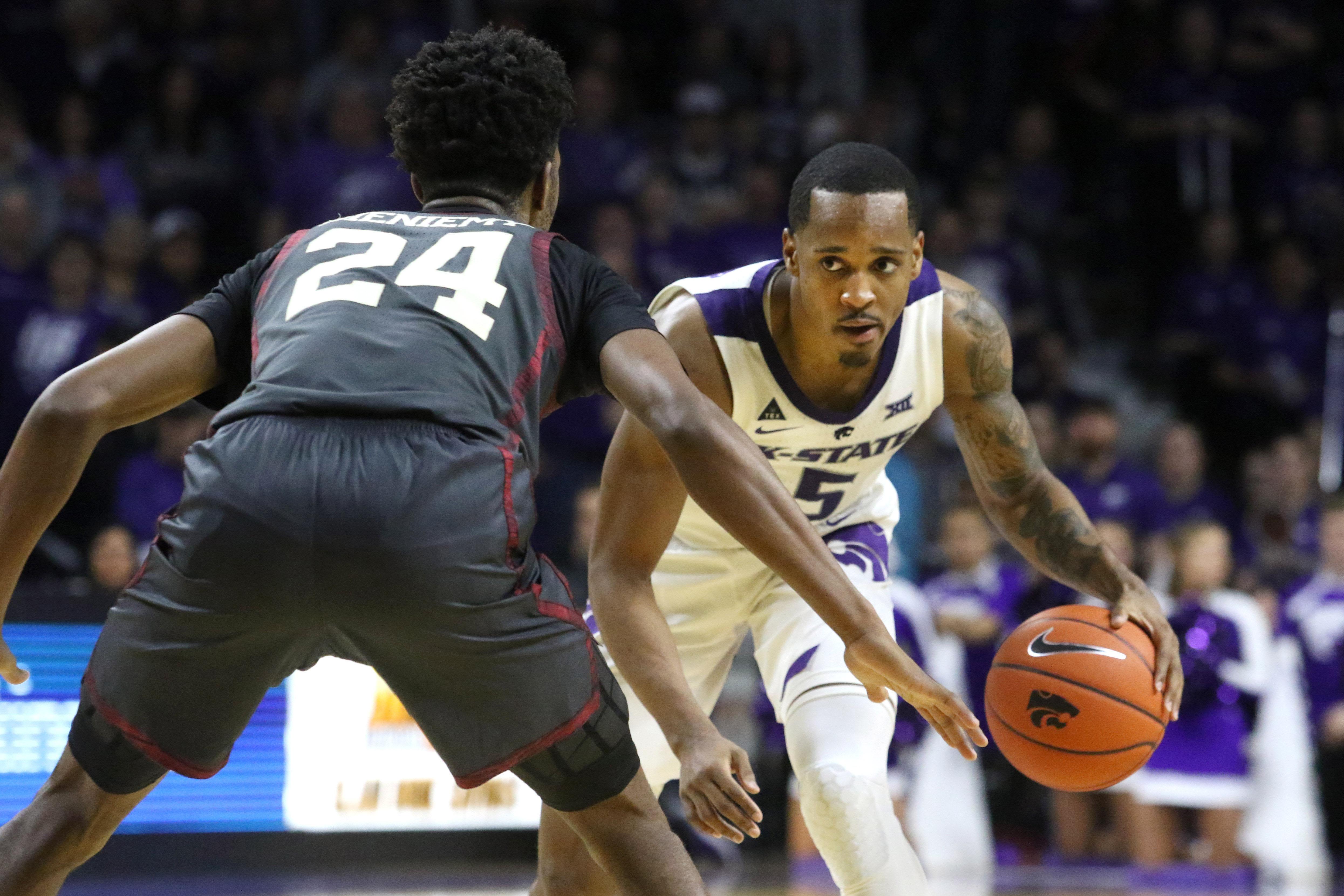 NCAA Basketball: Oklahoma at Kansas State
