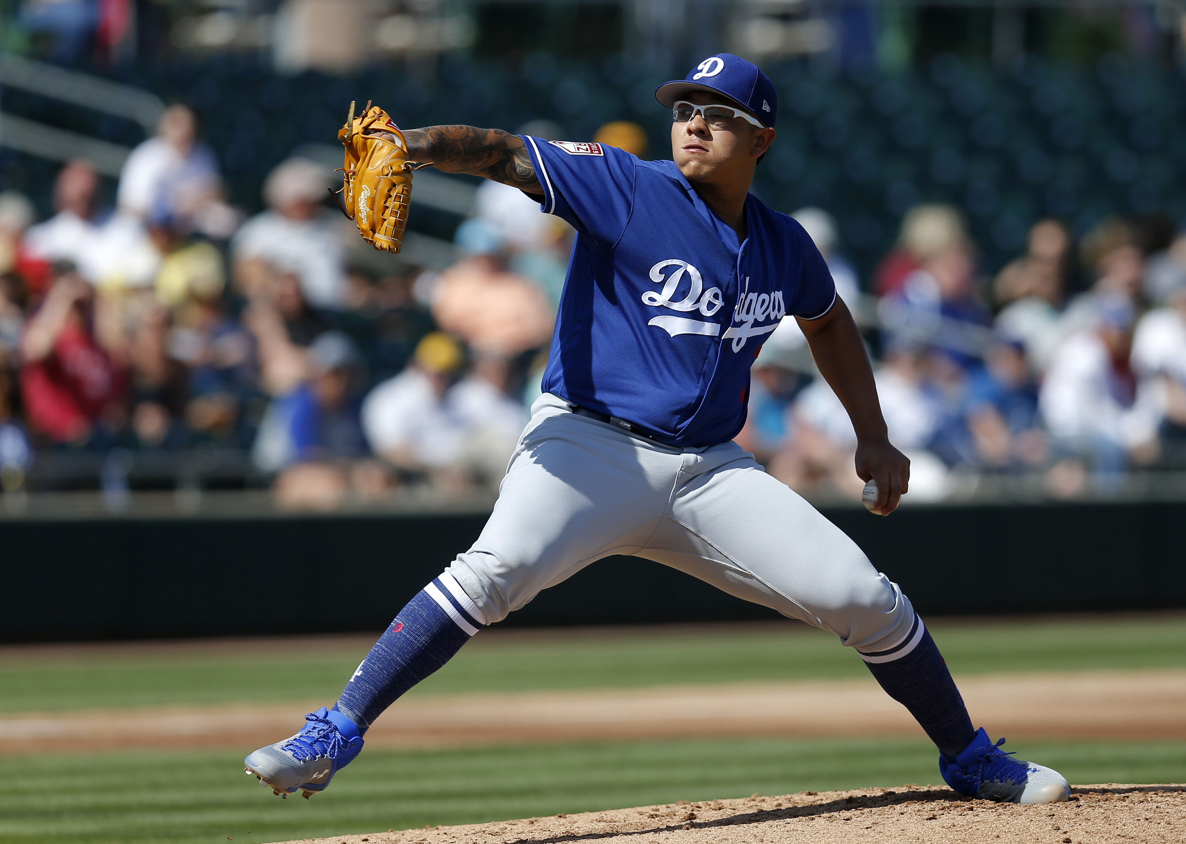 MLB: Spring Training-Los Angeles Dodgers at Oakland Athletics