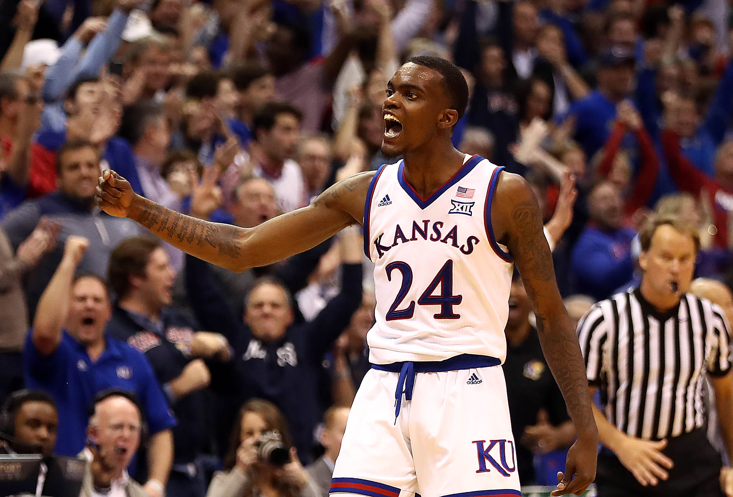 Lagerald Vick's bizarre Kansas basketball career ends before Big 12 tournament