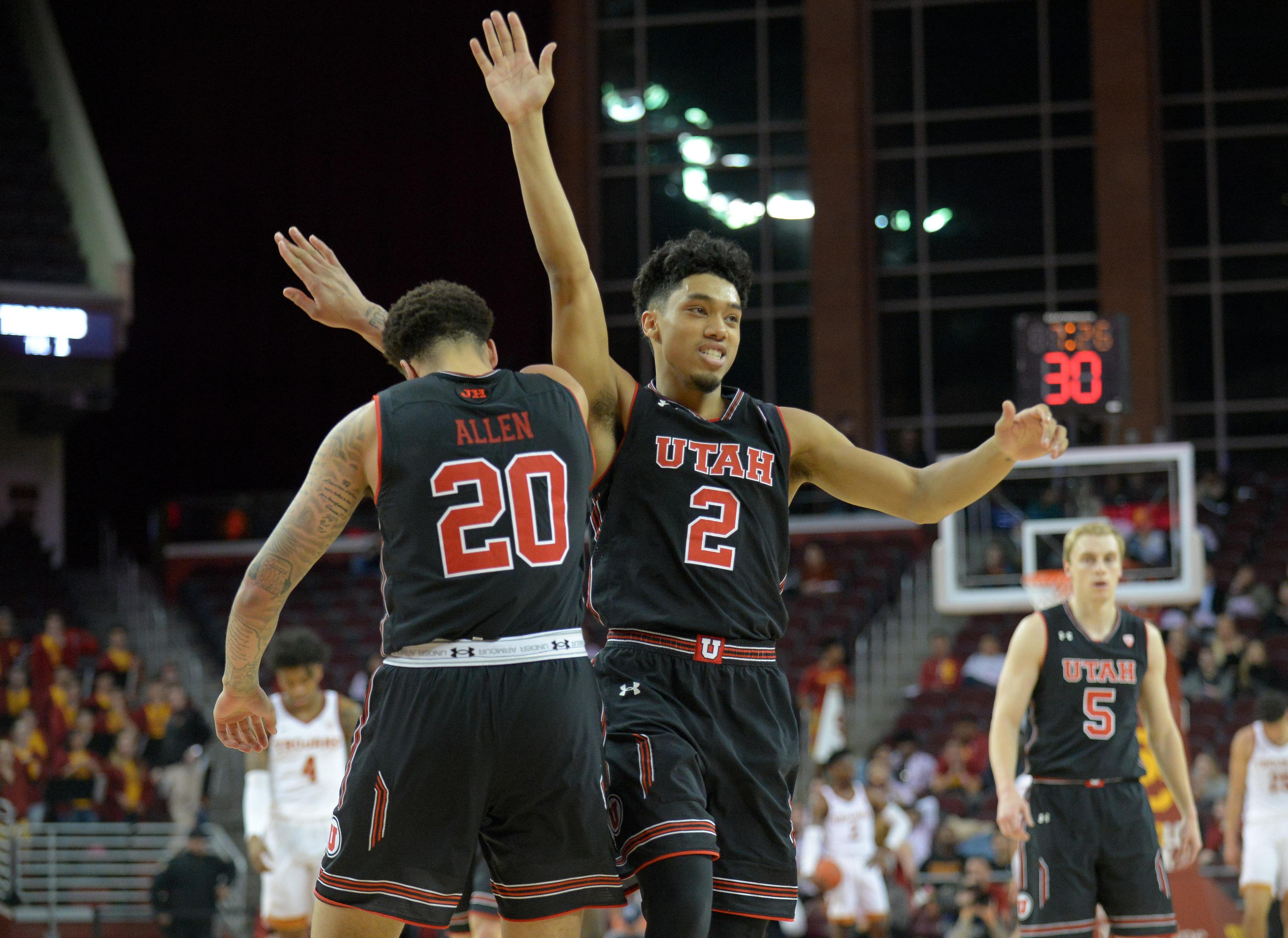 dcc4320d6 Utah Men s Basketball Team Pulls in Postseason Pac-12 Honors - Block U