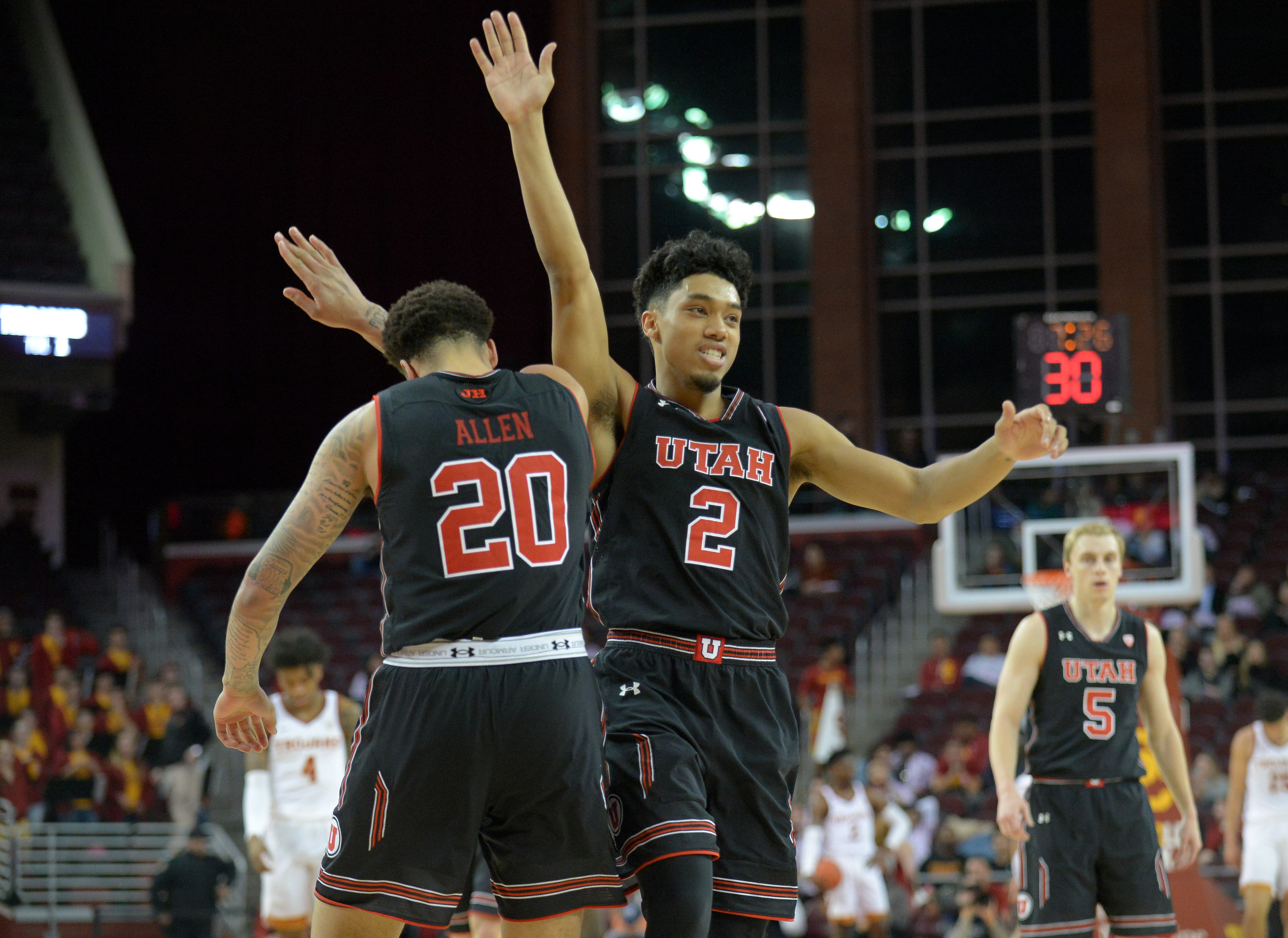 2ddd9a5a3f1 Utah Men s Basketball Team Pulls in Postseason Pac-12 Honors - Block U
