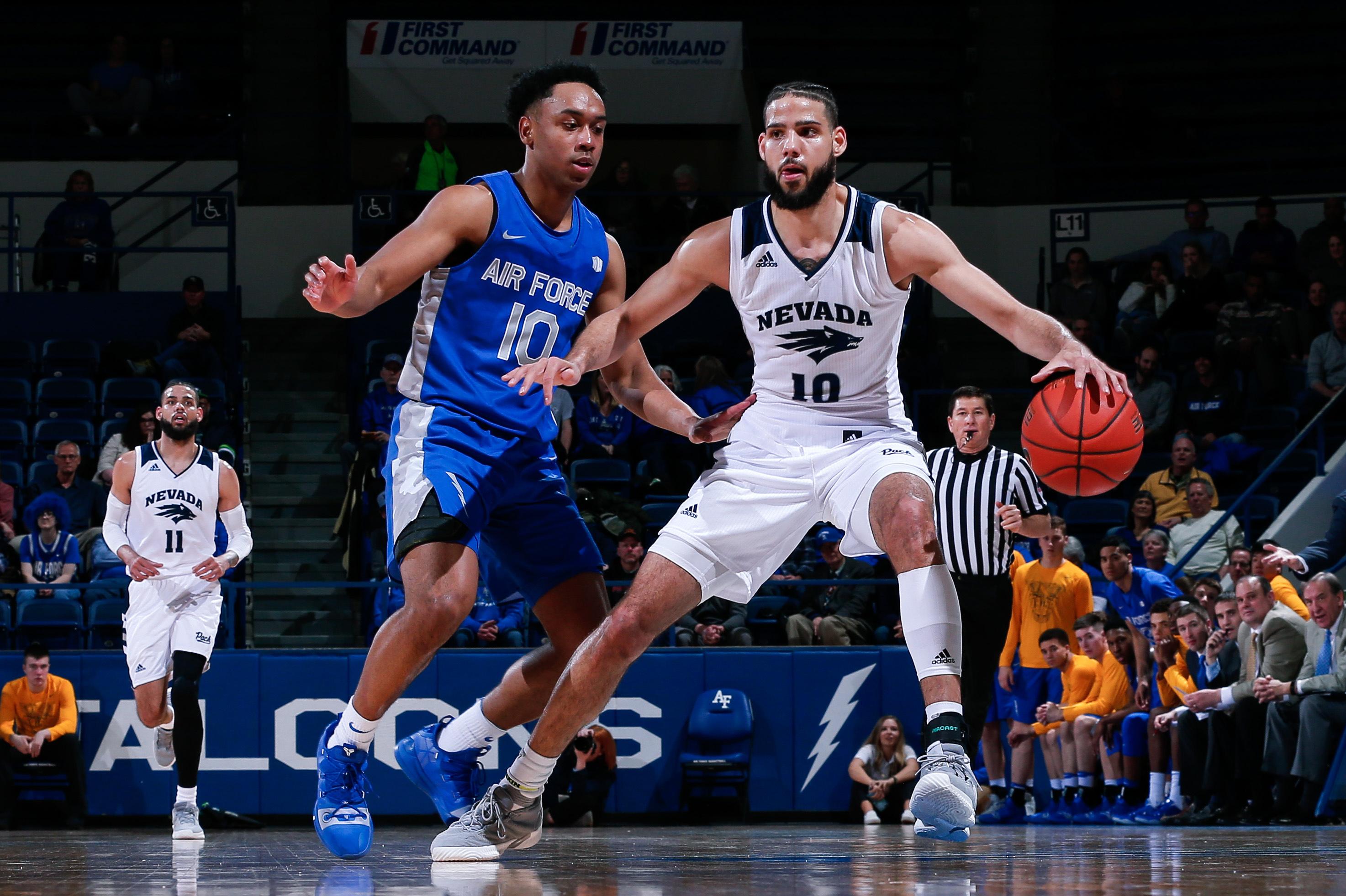 NCAA Basketball: Nevada at Air Force