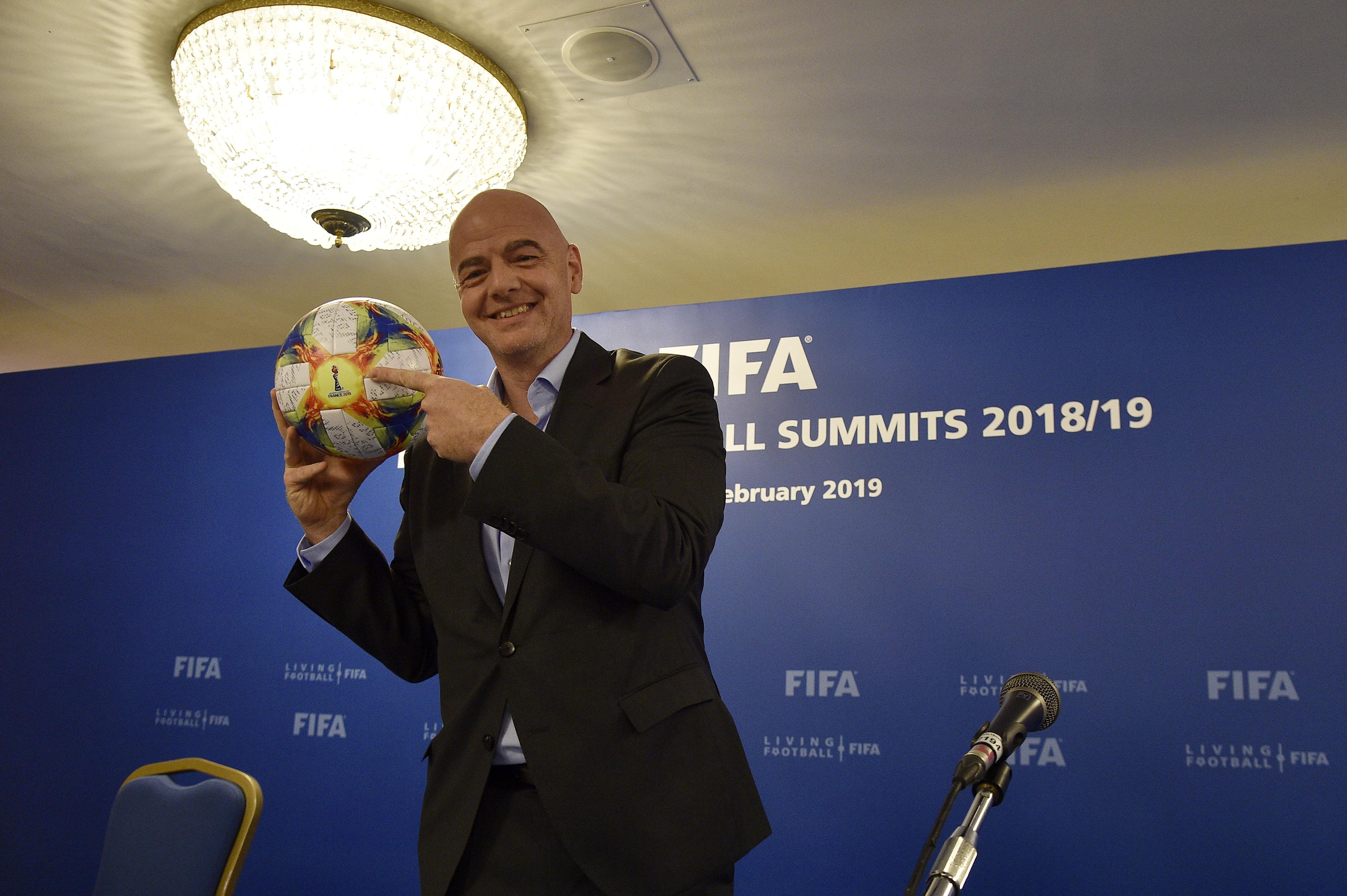 FIFA Executive Football Summit Press Conference